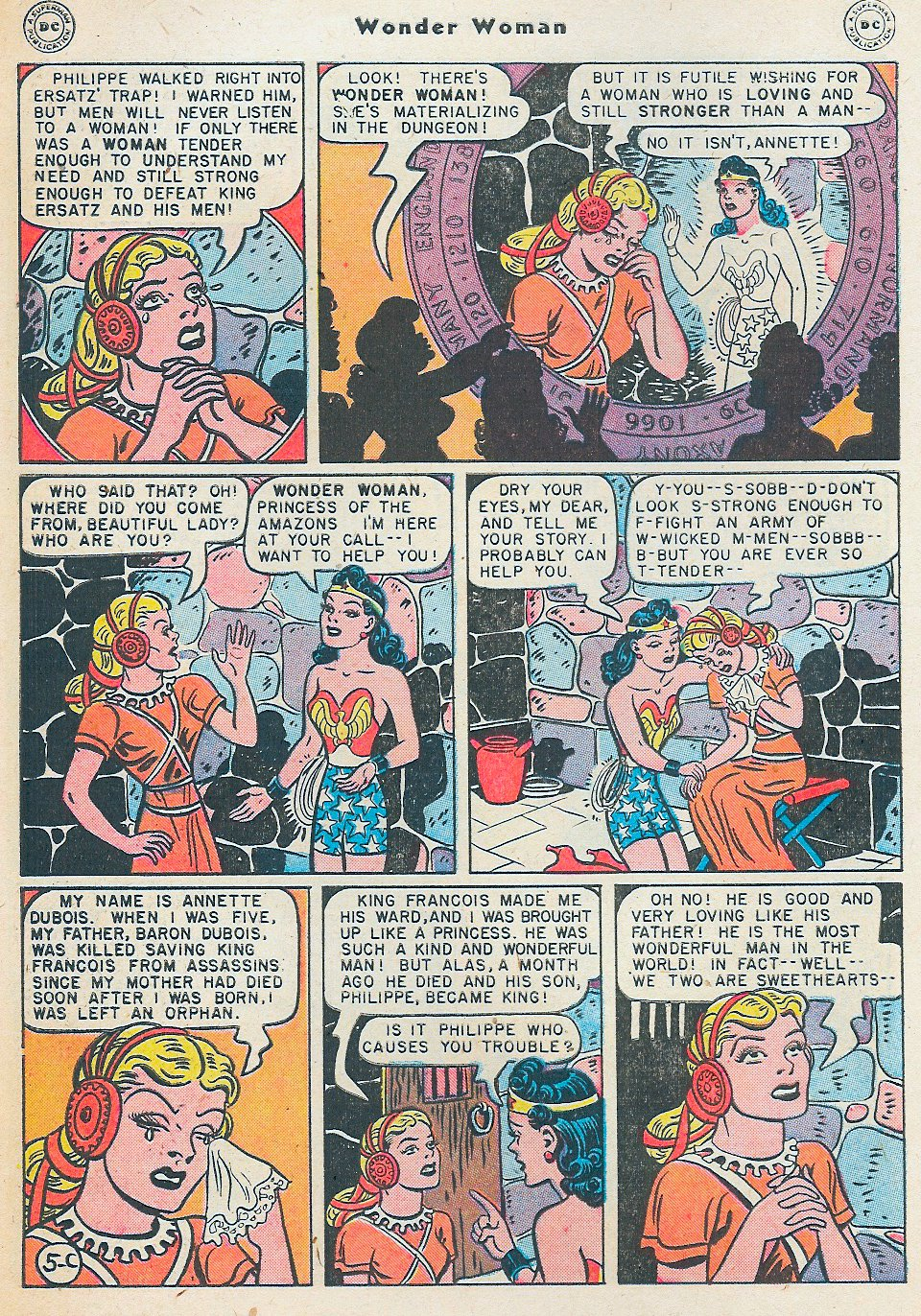 Read online Wonder Woman (1942) comic -  Issue #27 - 42