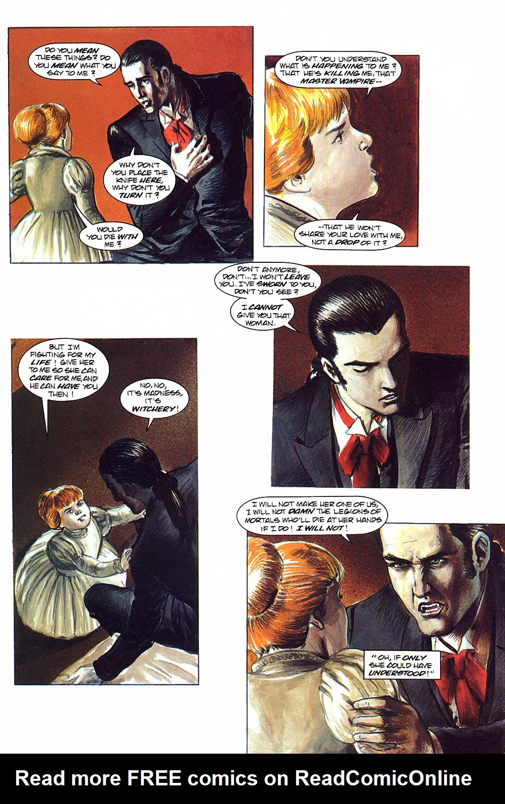 Read online Anne Rice's Interview with the Vampire comic -  Issue #9 - 24