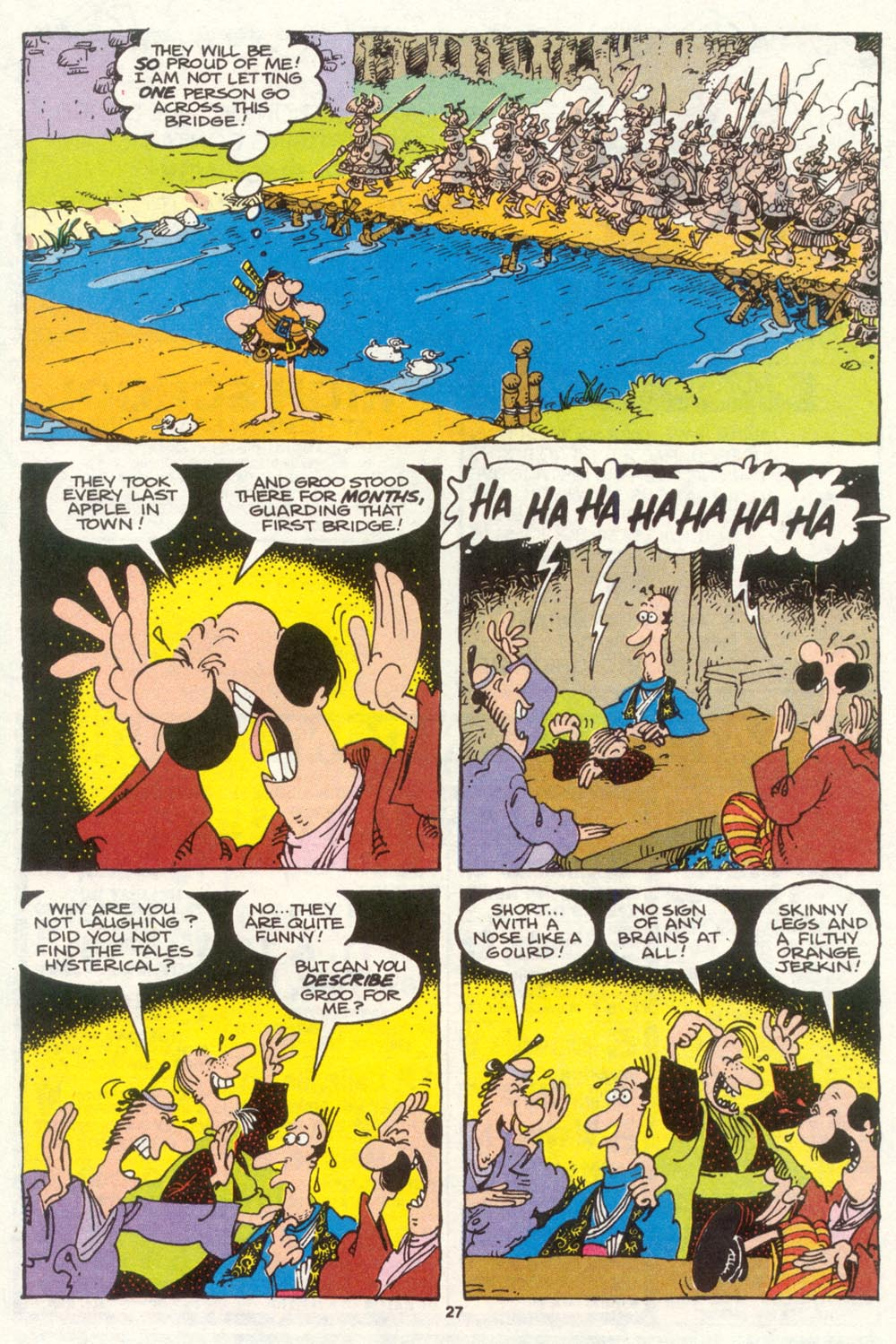 Read online Sergio Aragonés Groo the Wanderer comic -  Issue #86 - 22