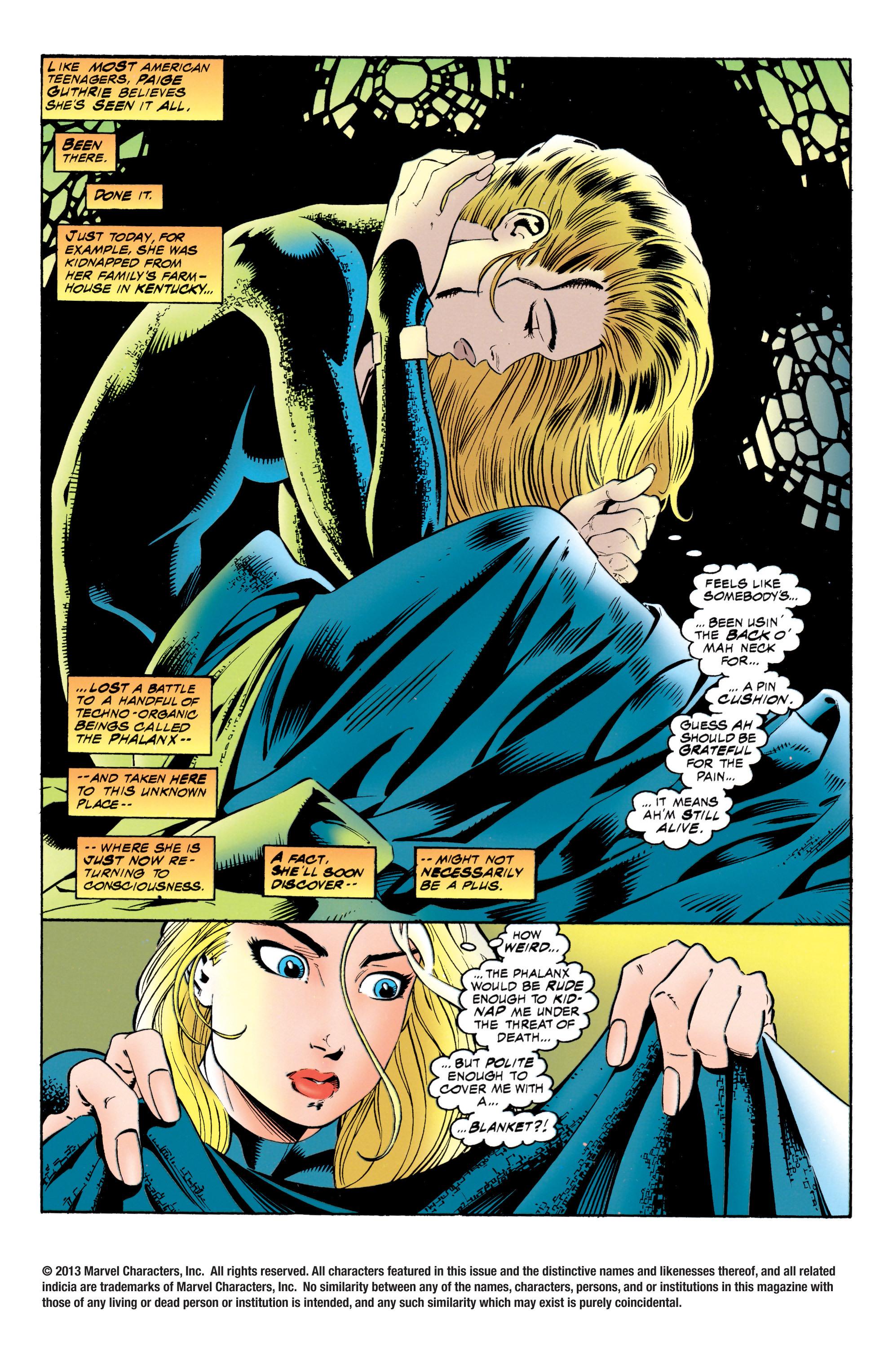 Read online Uncanny X-Men (1963) comic -  Issue #317 - 3