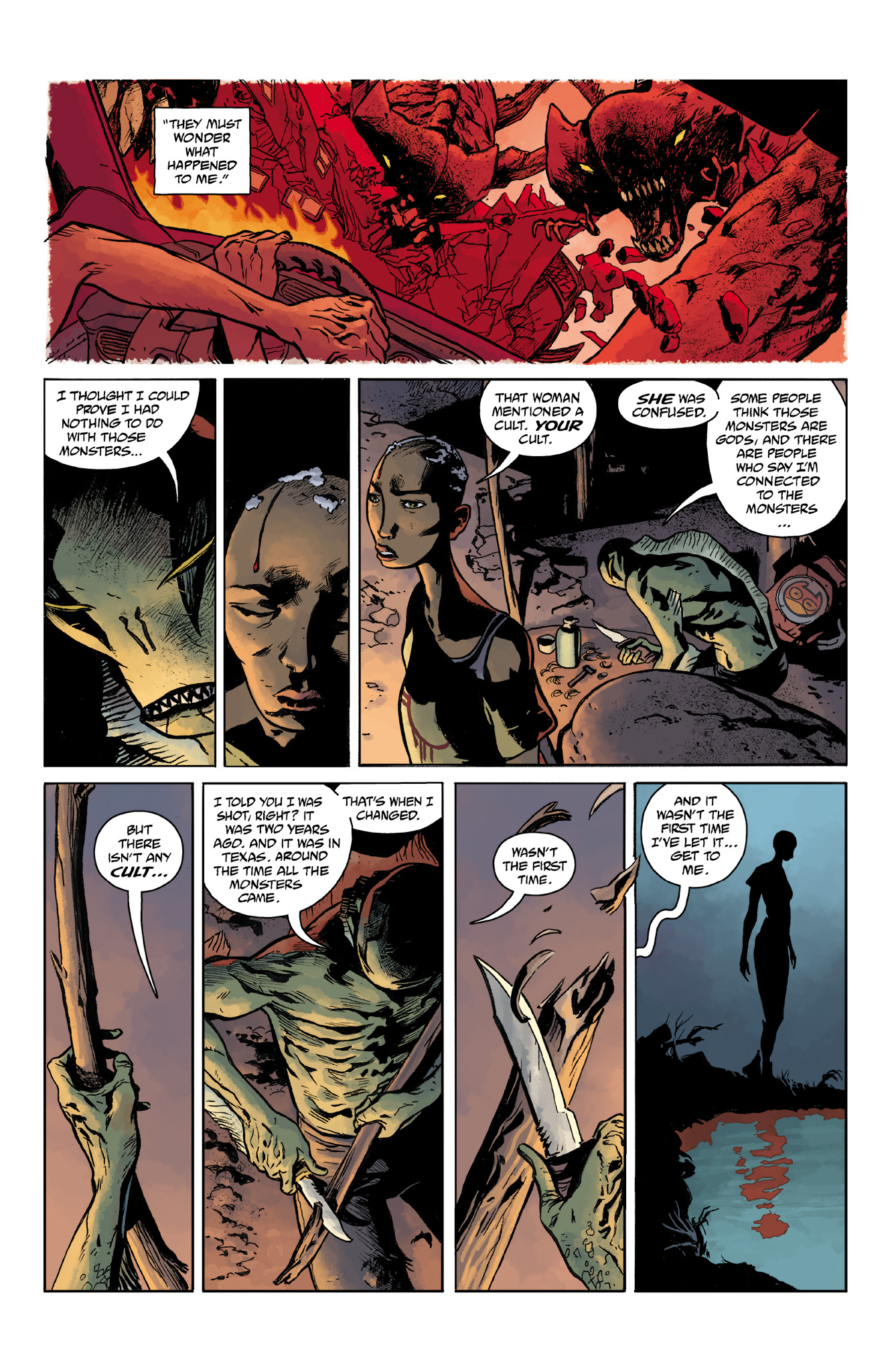 Read online Abe Sapien comic -  Issue #14 - 10