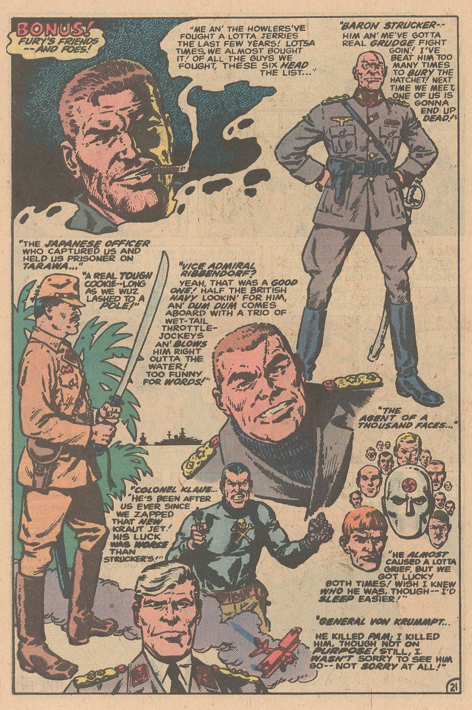 Read online Sgt. Fury comic -  Issue #161 - 30