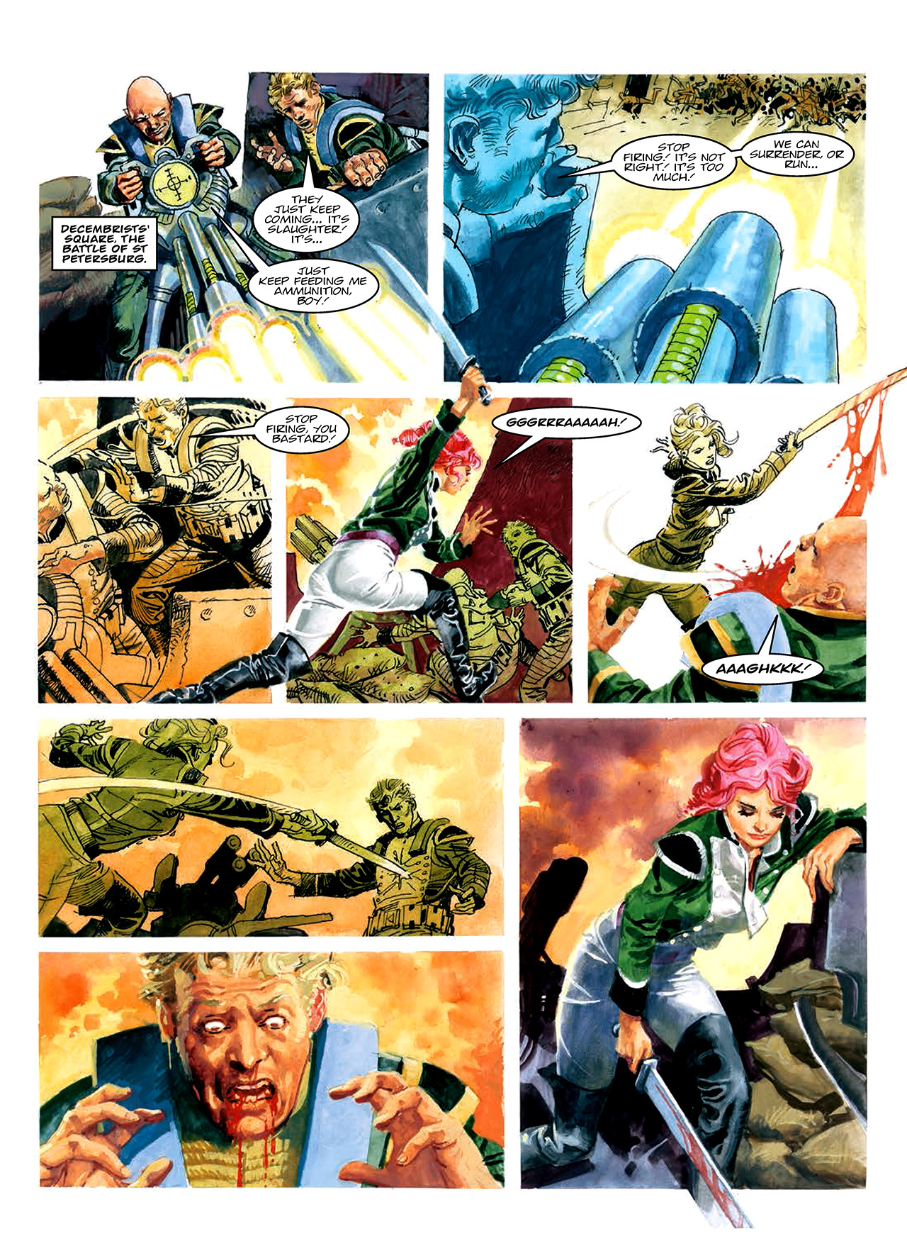 Read online Nikolai Dante comic -  Issue # TPB 10 - 63