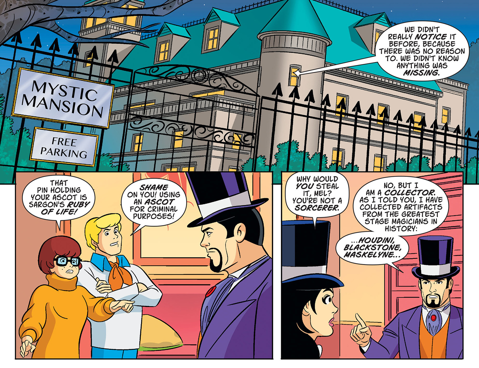 Read online Scooby-Doo! Team-Up comic -  Issue #38 - 12