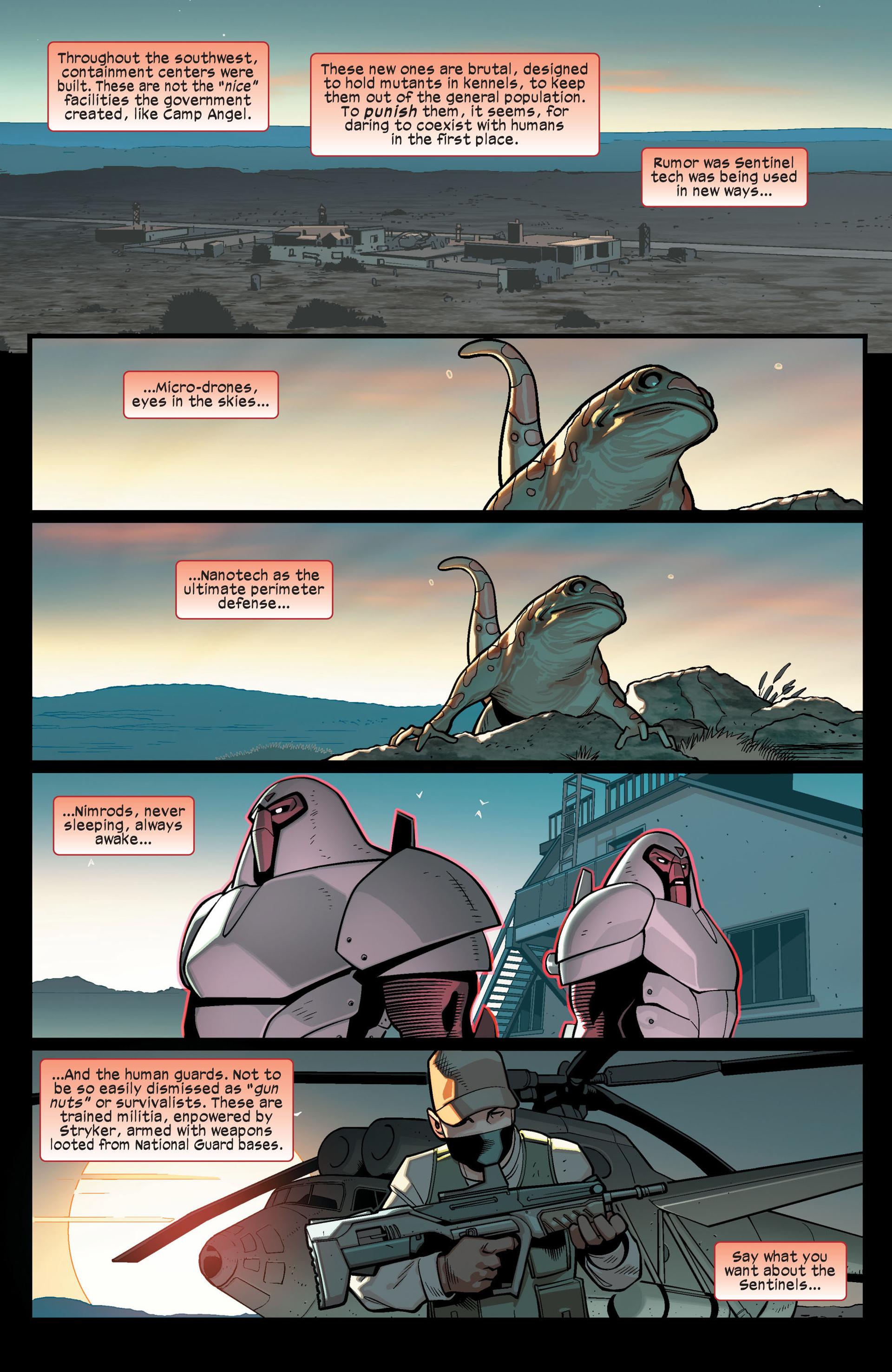 Read online Ultimate Comics X-Men comic -  Issue #14 - 12