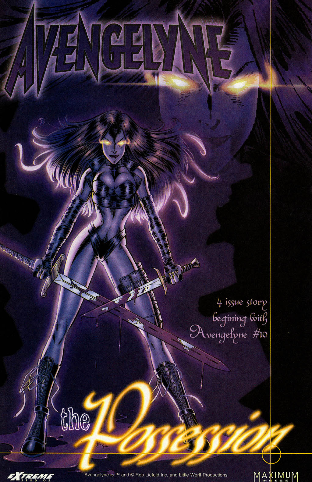 Read online Avengelyne (1996) comic -  Issue #8 - 21