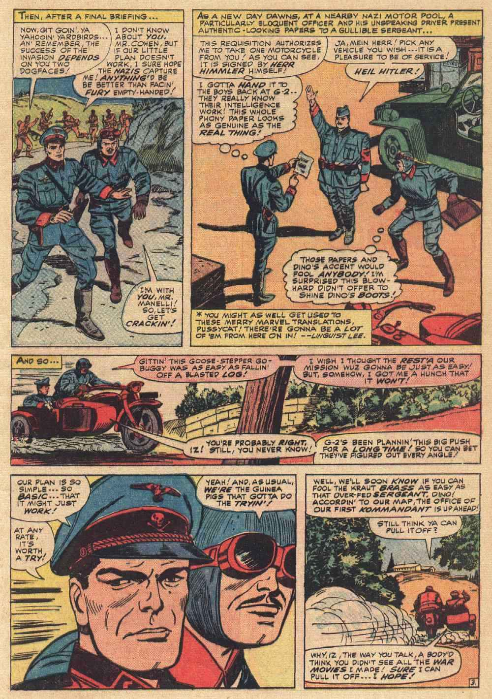 Read online Sgt. Fury comic -  Issue # _Special 2 - 5