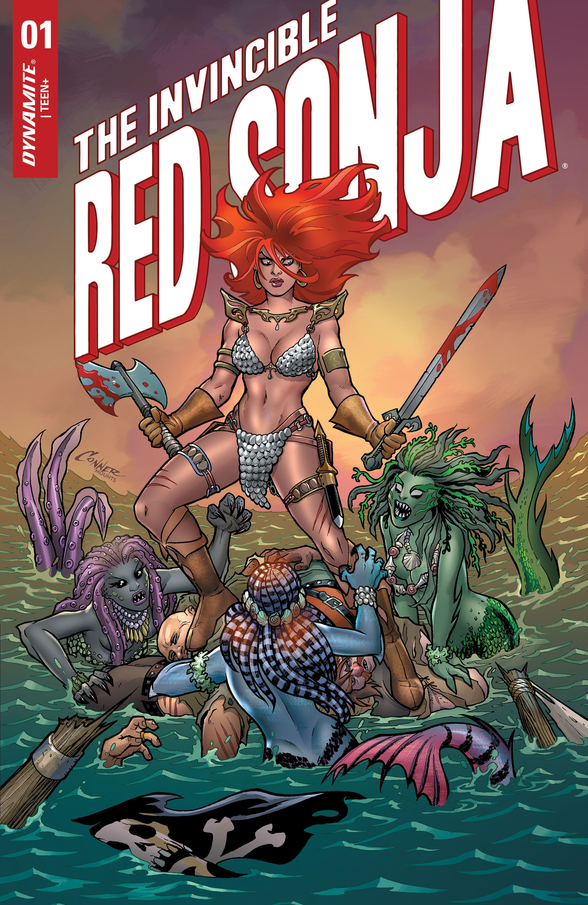 The Invincible Red Sonja issue 1 - Page 1