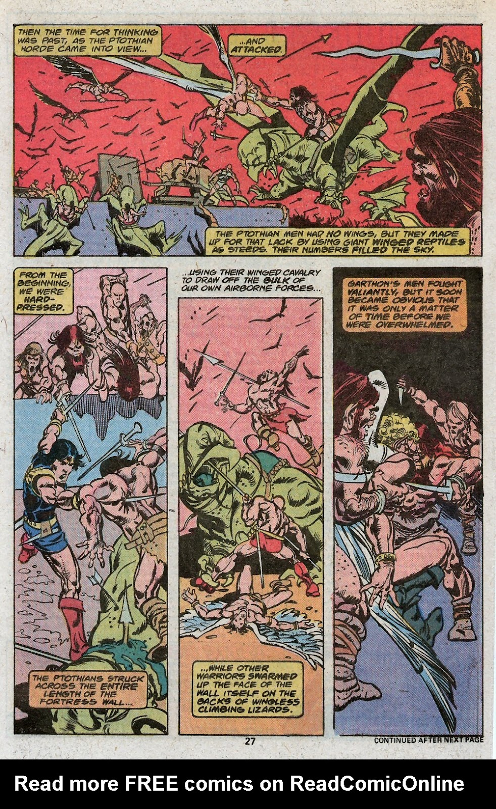 John Carter Warlord of Mars issue 19 - Page 29