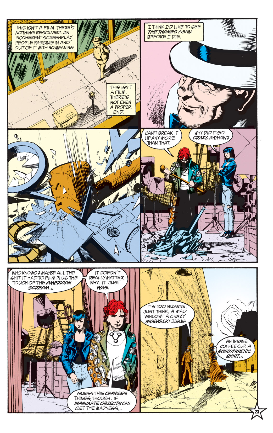 Read online Shade, the Changing Man comic -  Issue #6 - 25