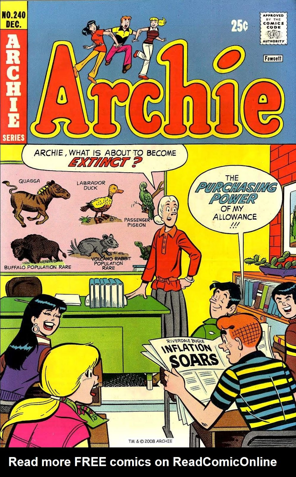 Read online Archie (1960) comic -  Issue #240 - 1