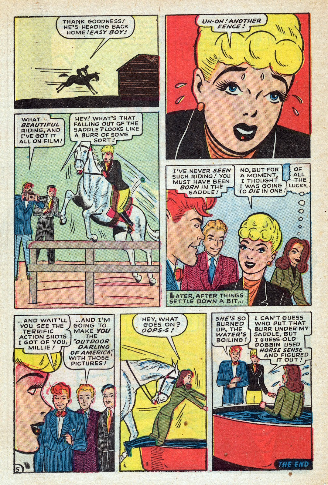 Read online Nellie The Nurse (1945) comic -  Issue #17 - 26