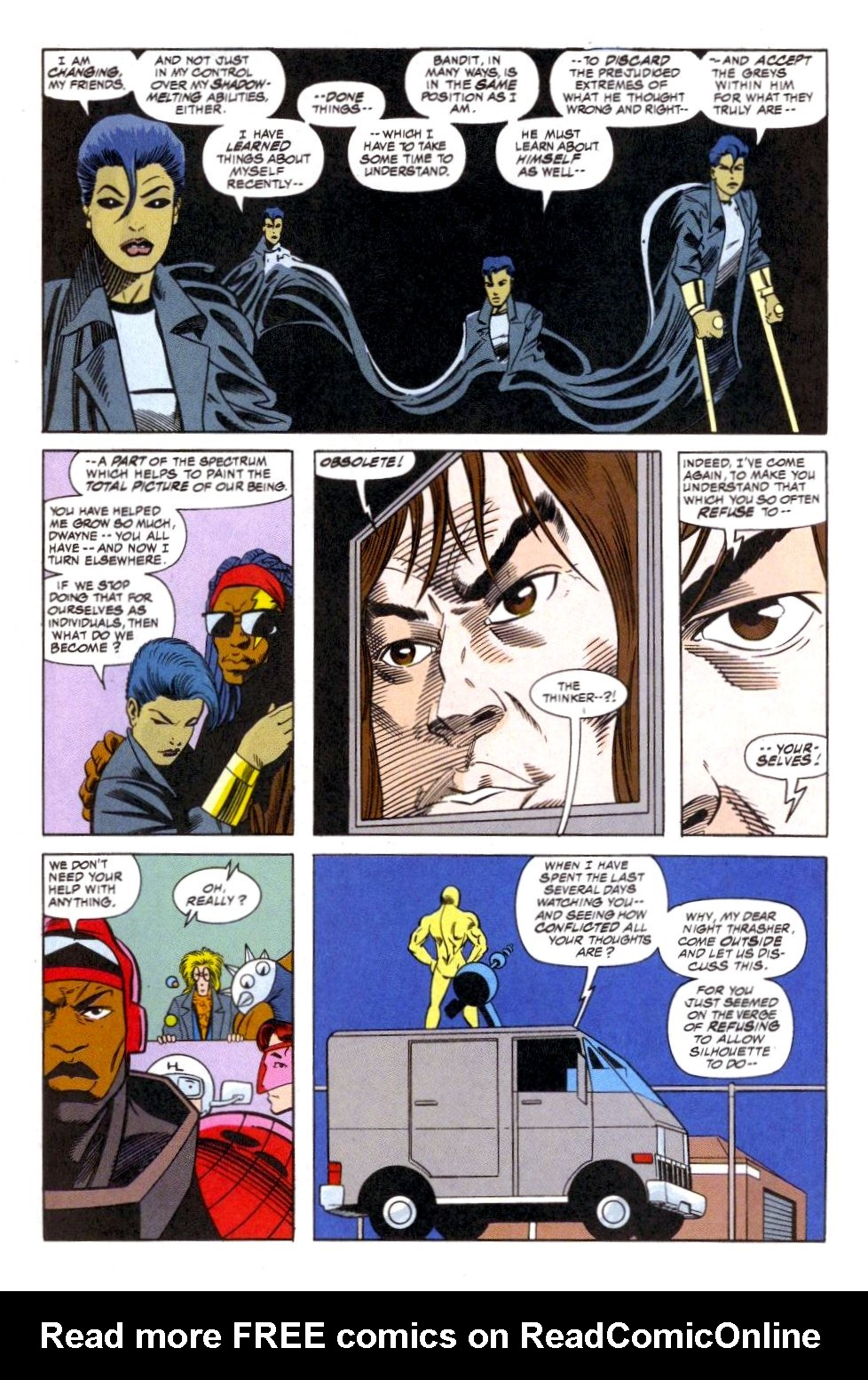 The New Warriors Issue #51 #55 - English 18
