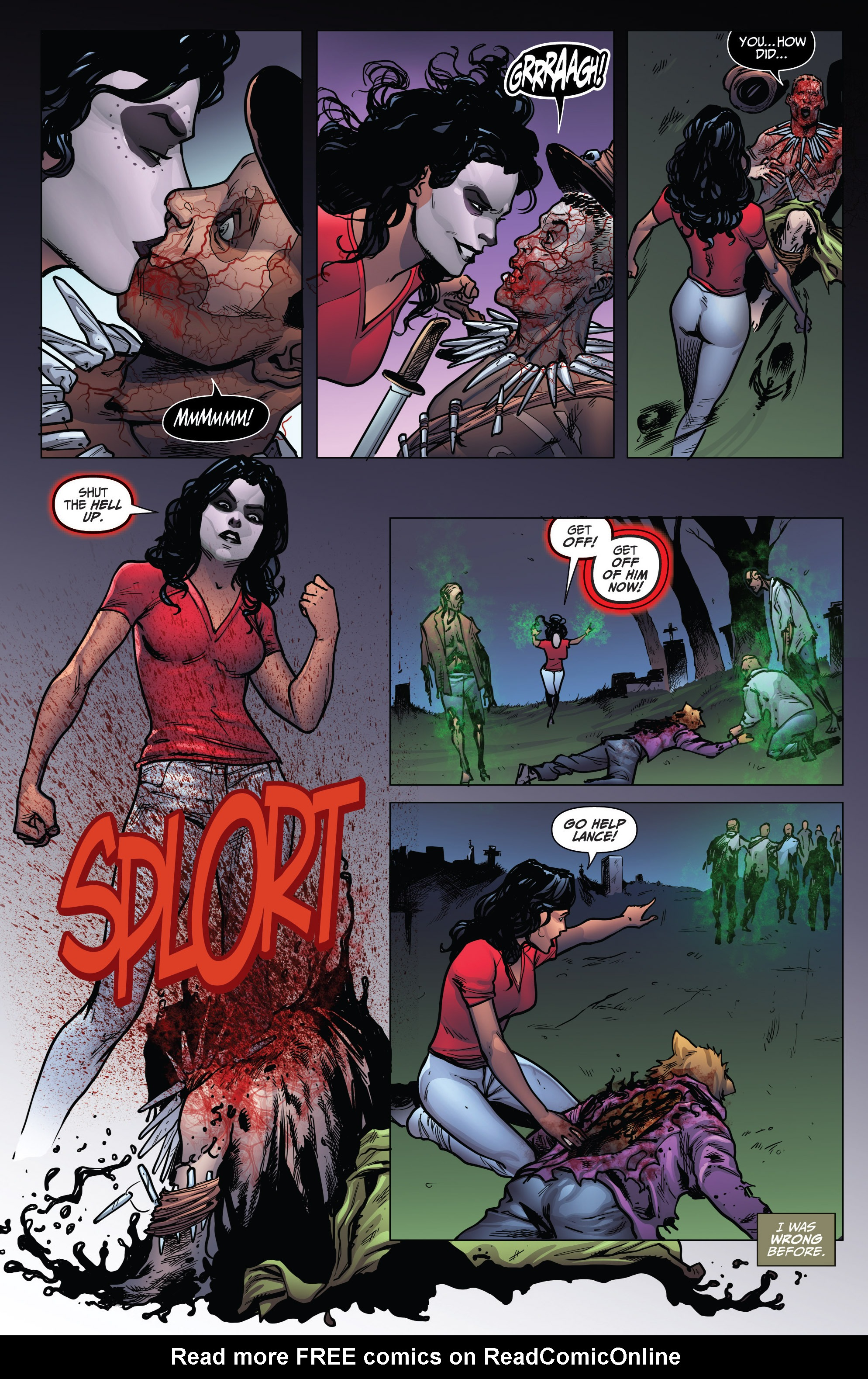 Read online Grimm Fairy Tales: Arcane Acre comic -  Issue # TPB 4 - 163