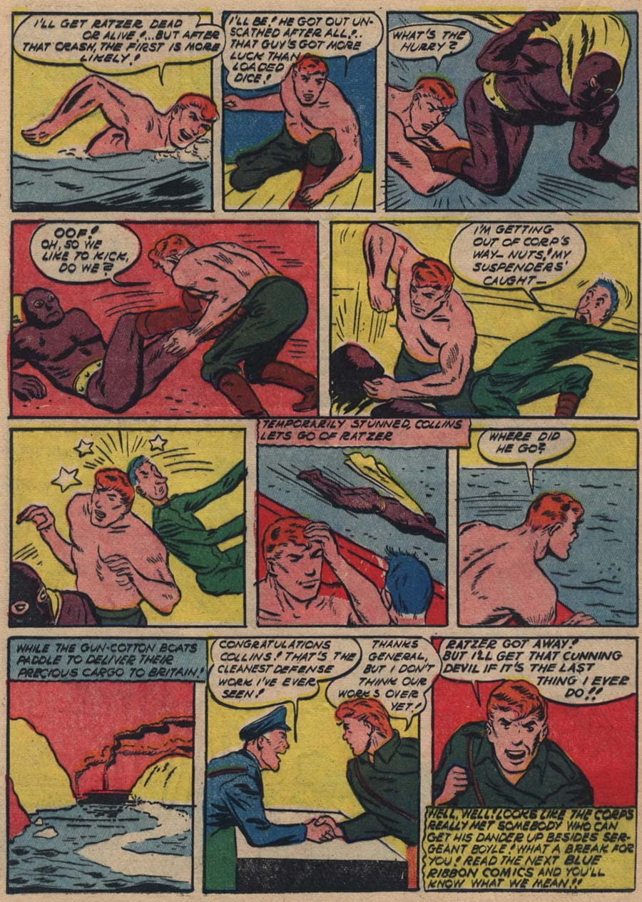 Blue Ribbon Comics (1939) issue 18 - Page 36