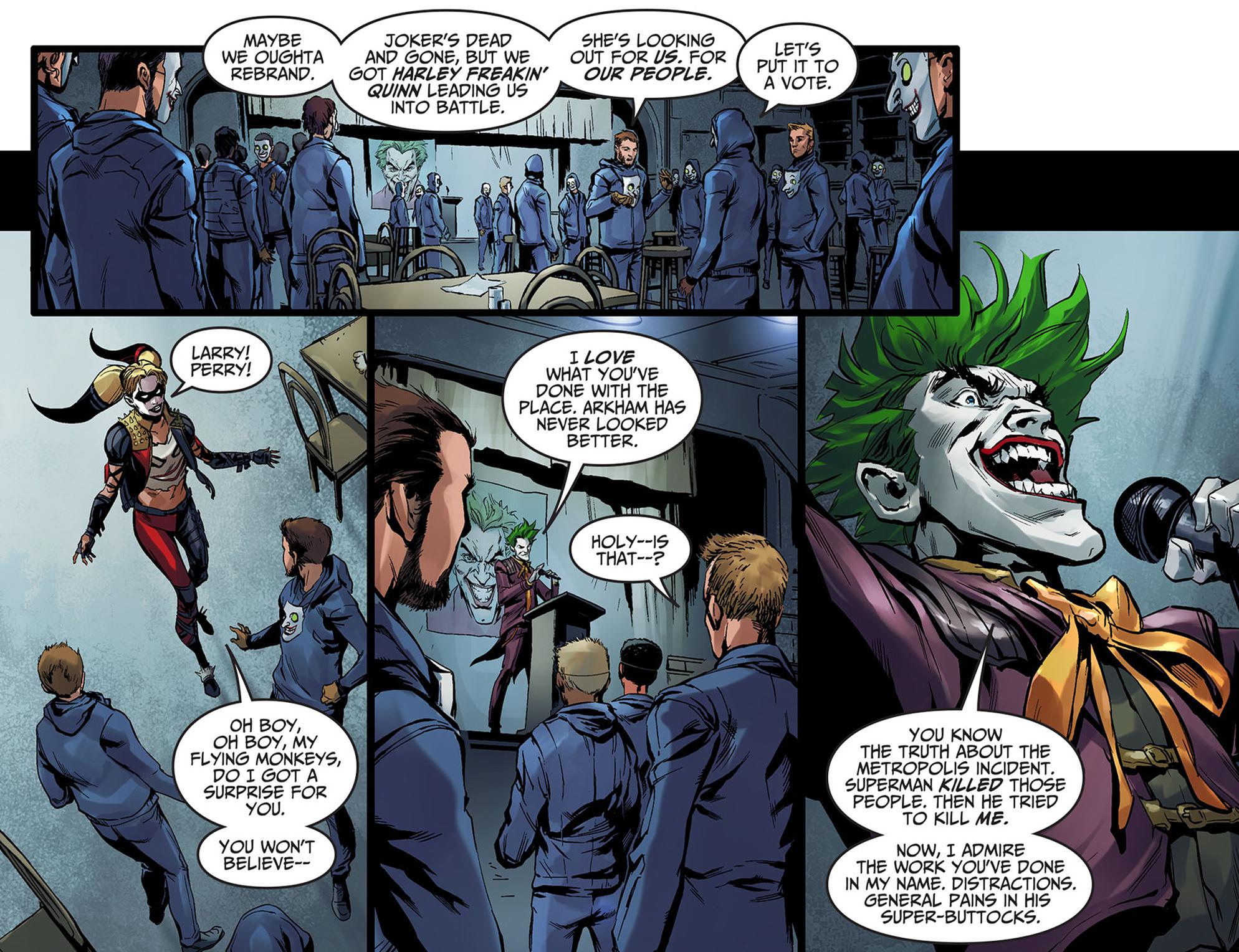 Read online Injustice: Ground Zero comic -  Issue #5 - 16