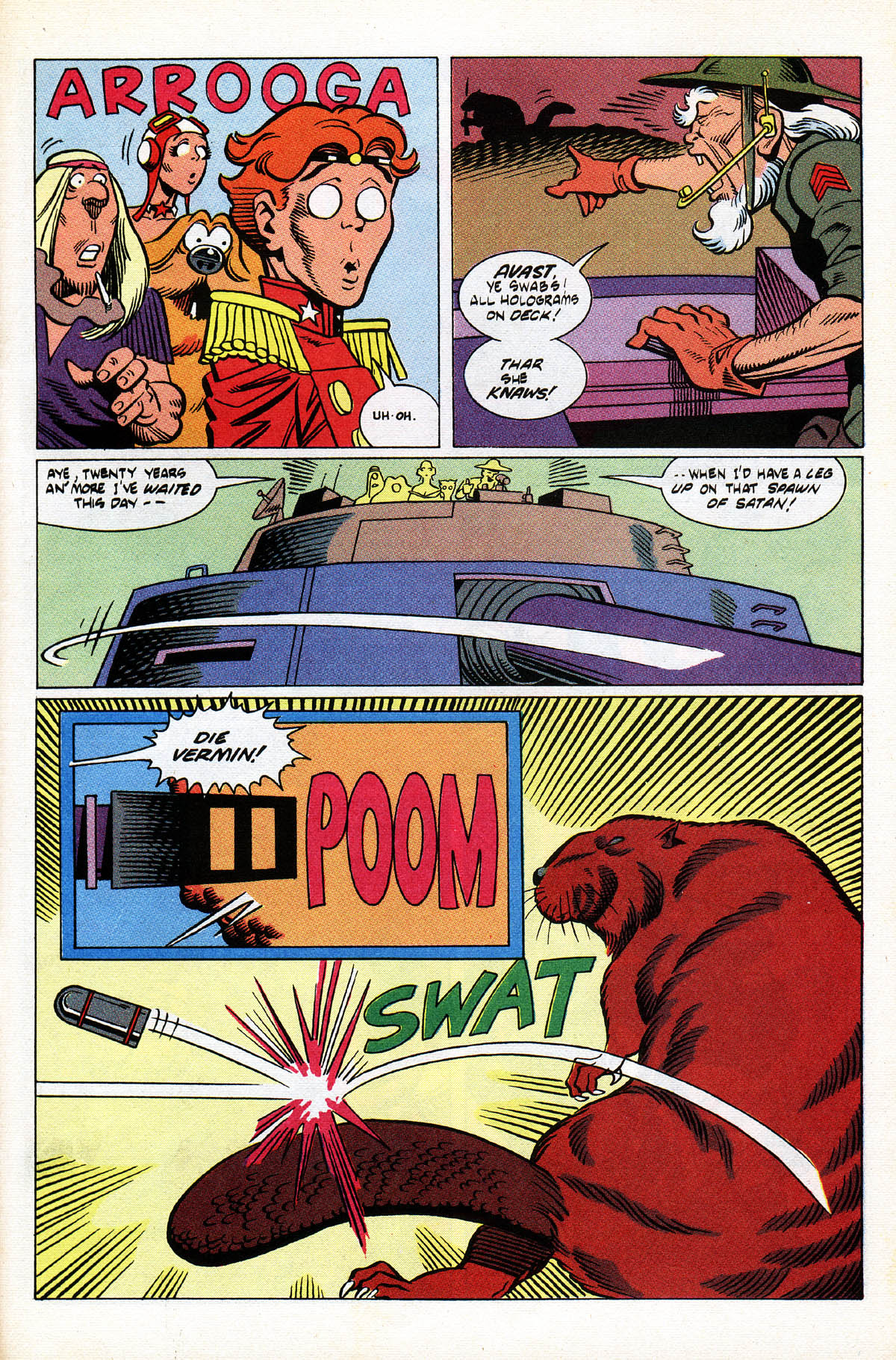 Read online American Flagg! comic -  Issue #38 - 31