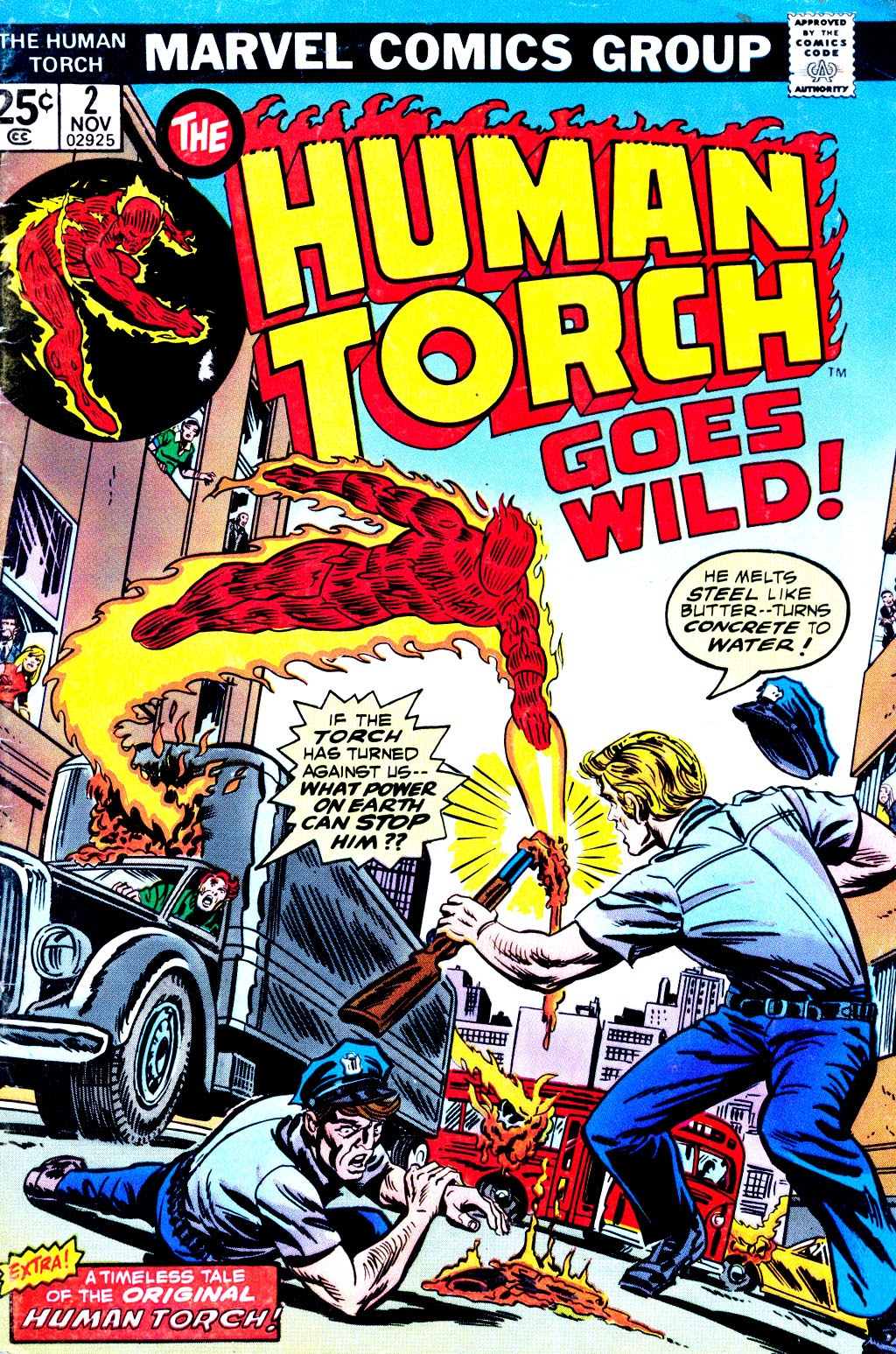 The Human Torch (1974) issue 2 - Page 1