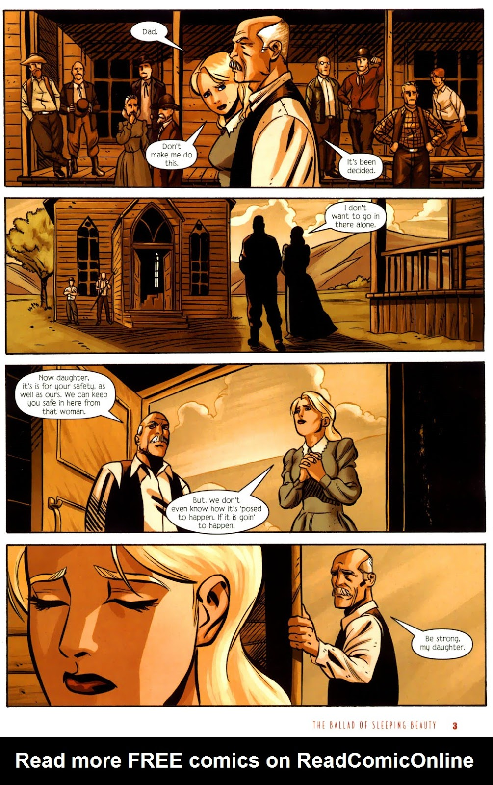 Read online The Ballad of Sleeping Beauty comic -  Issue #6 - 5