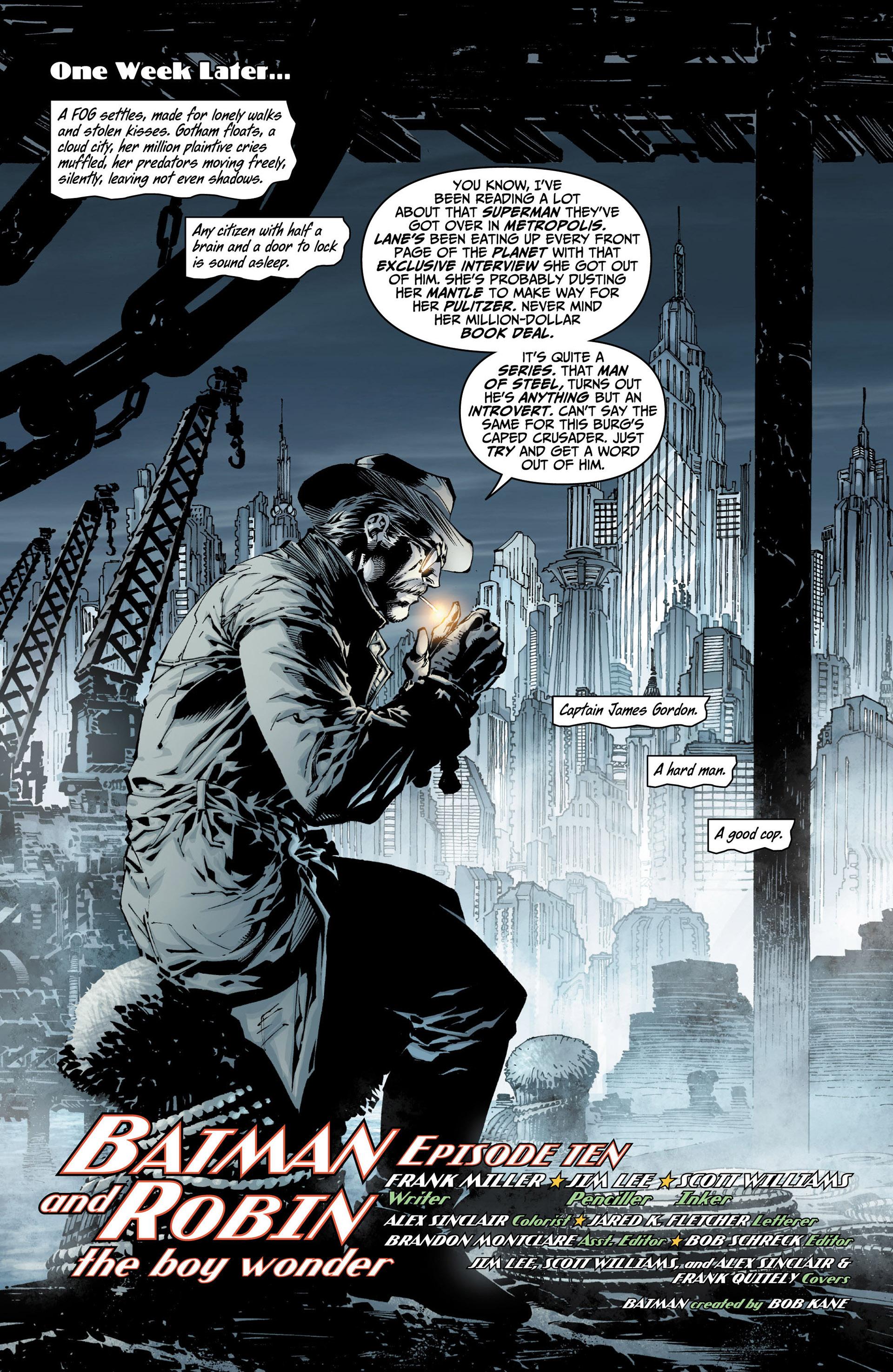 All Star Batman & Robin, The Boy Wonder 10 Page 3
