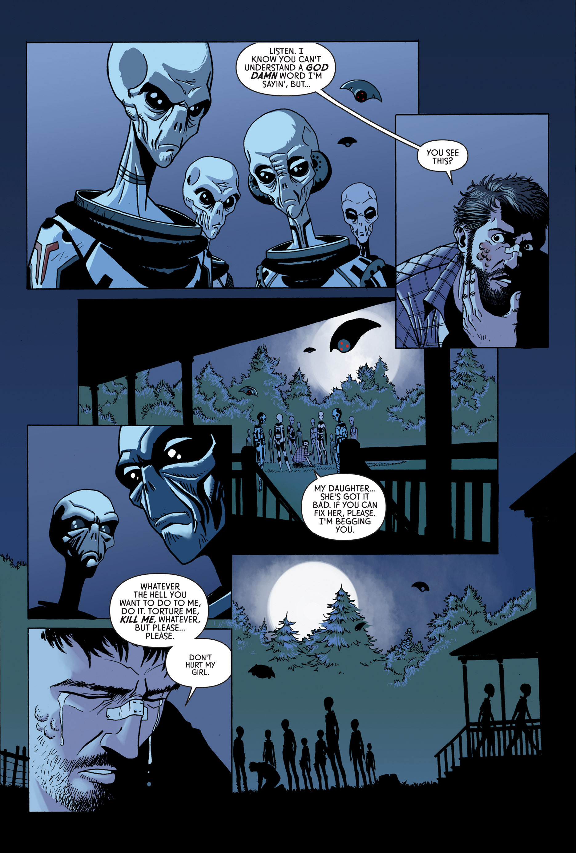Read online Trespasser comic -  Issue #4 - 12