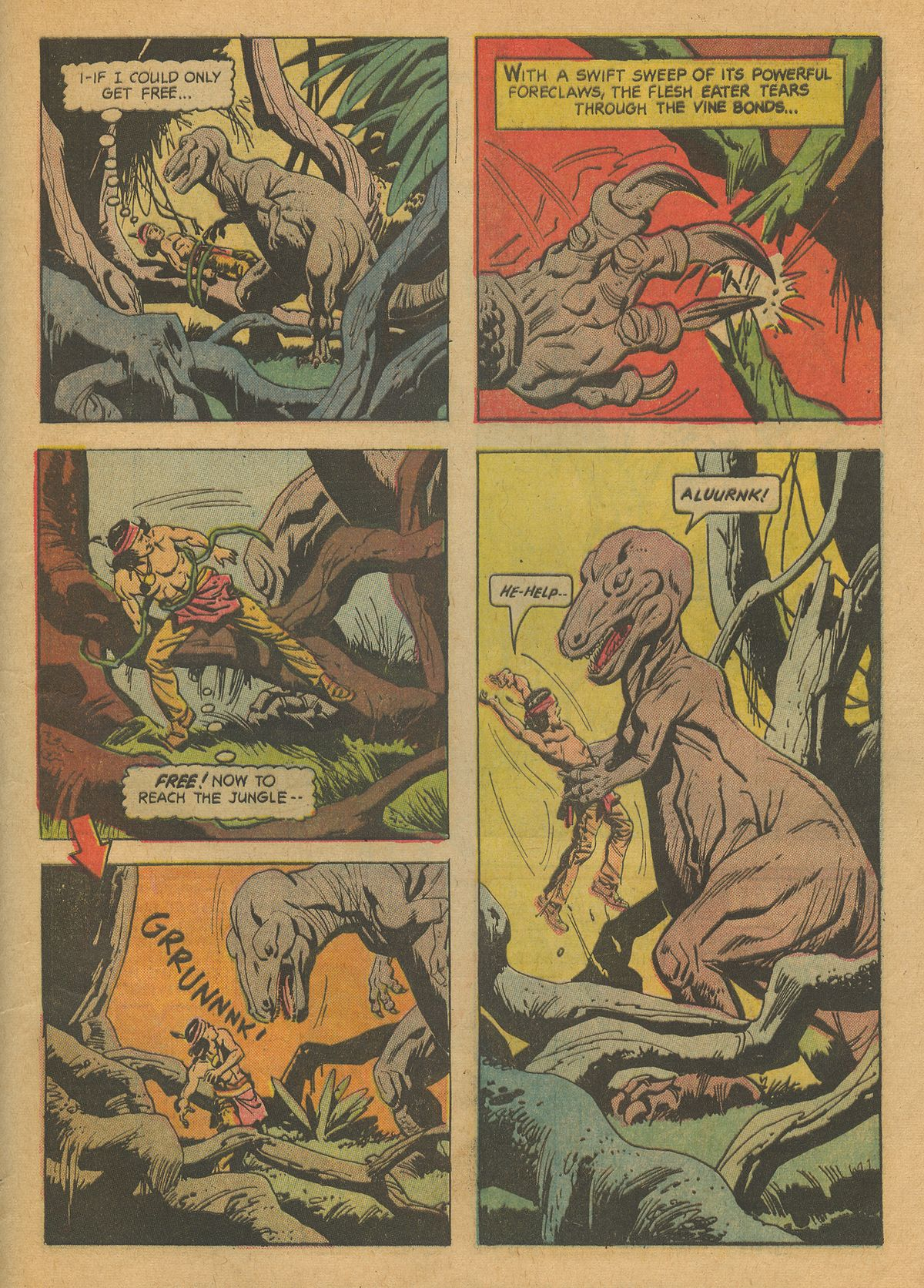Read online Turok, Son of Stone comic -  Issue #37 - 33