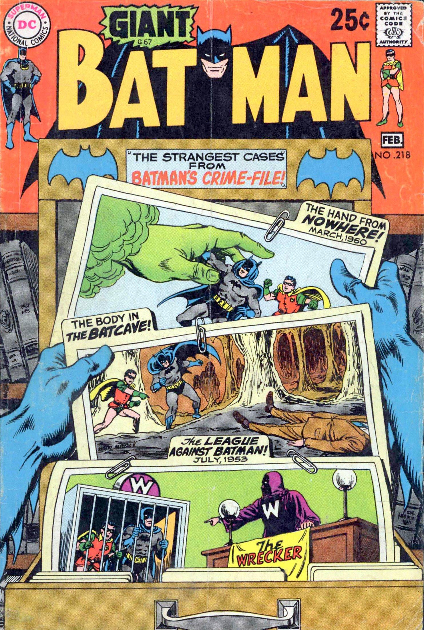Batman (1940) 218 Page 1
