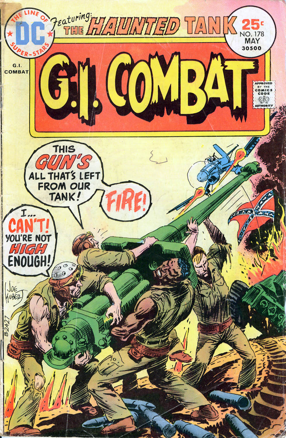 G.I. Combat (1952) issue 178 - Page 1