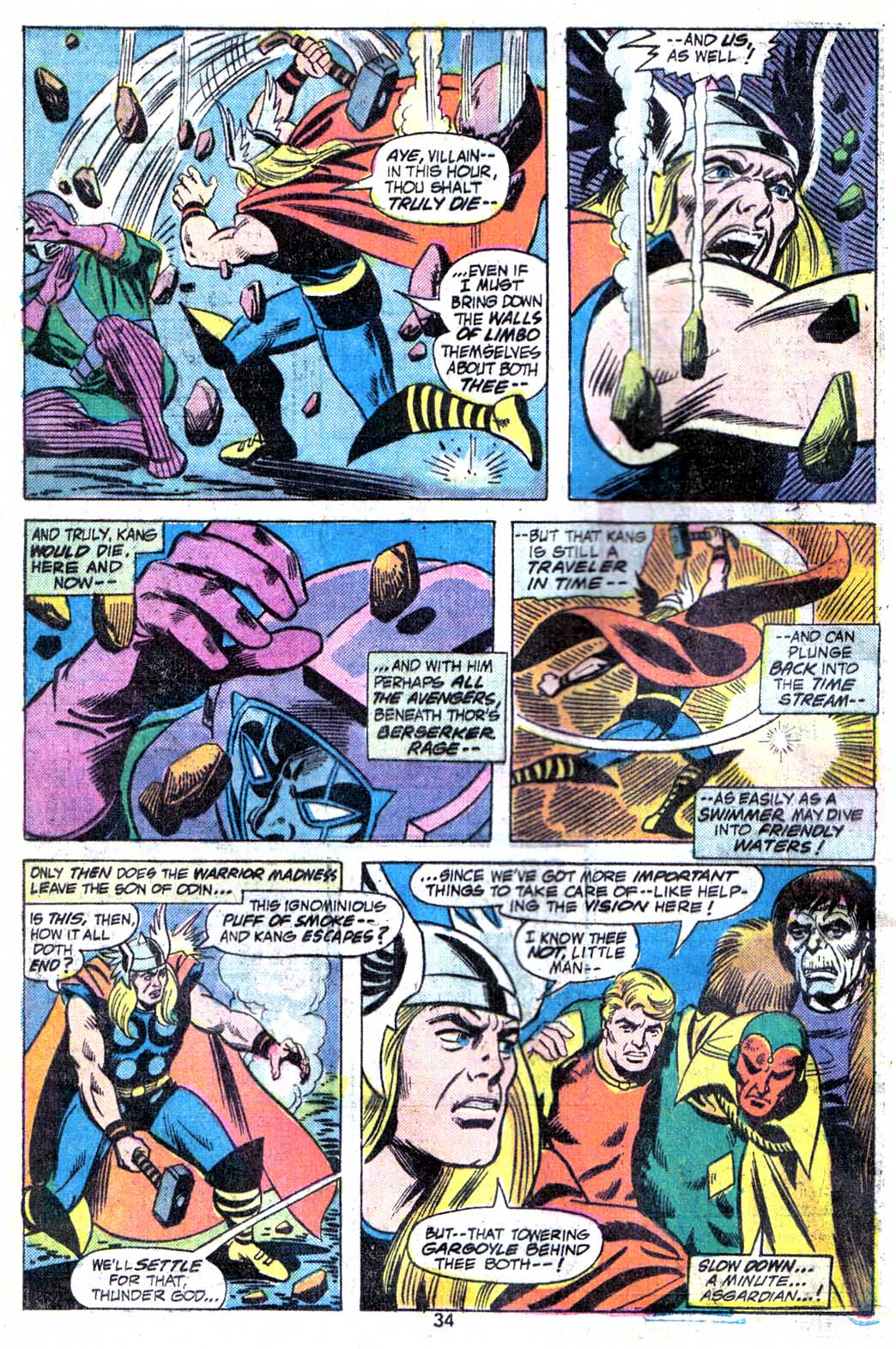 Giant-Size Avengers (1974) issue 3 - Page 36
