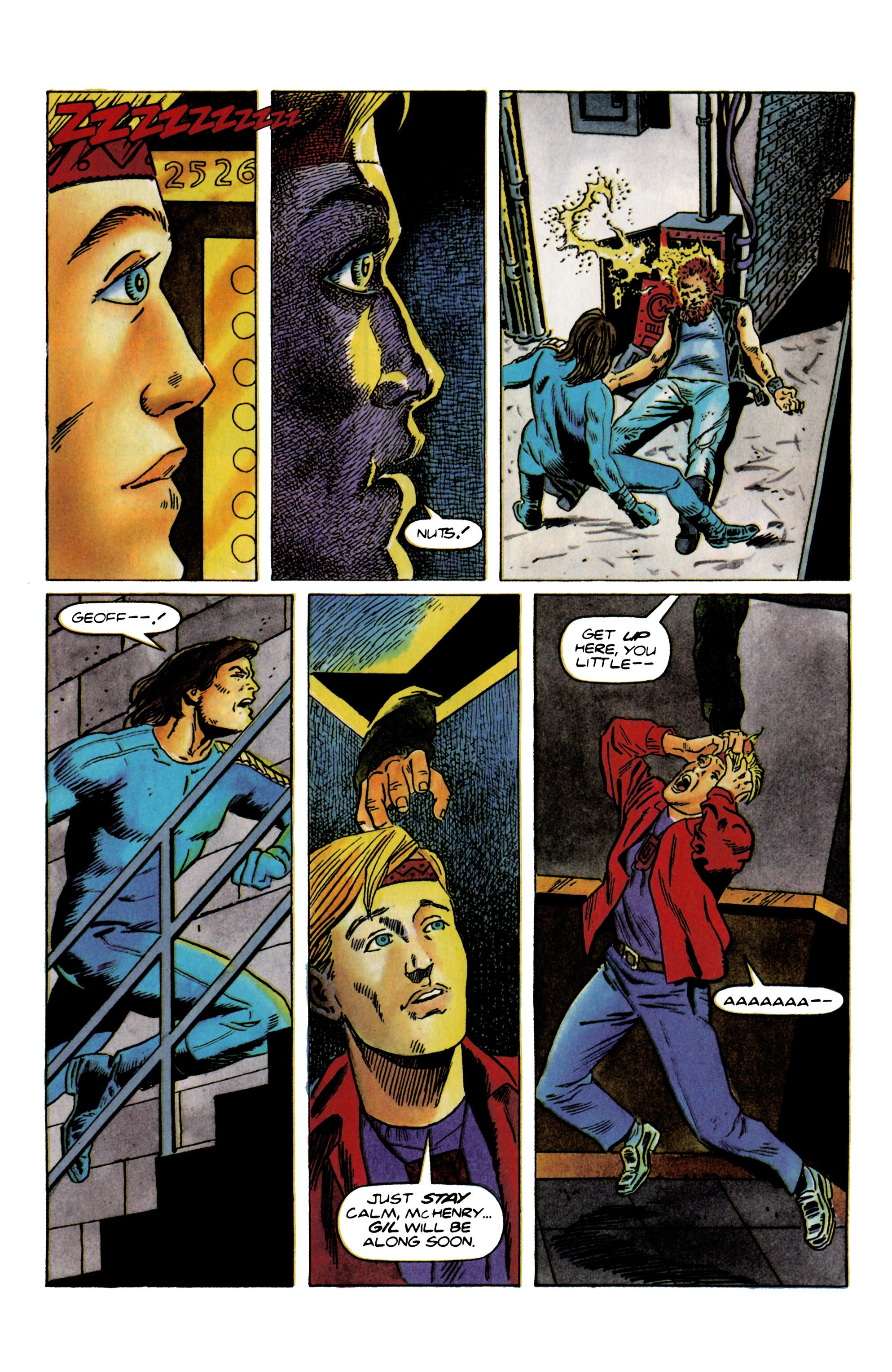Read online Eternal Warrior (1992) comic -  Issue #22 - 19