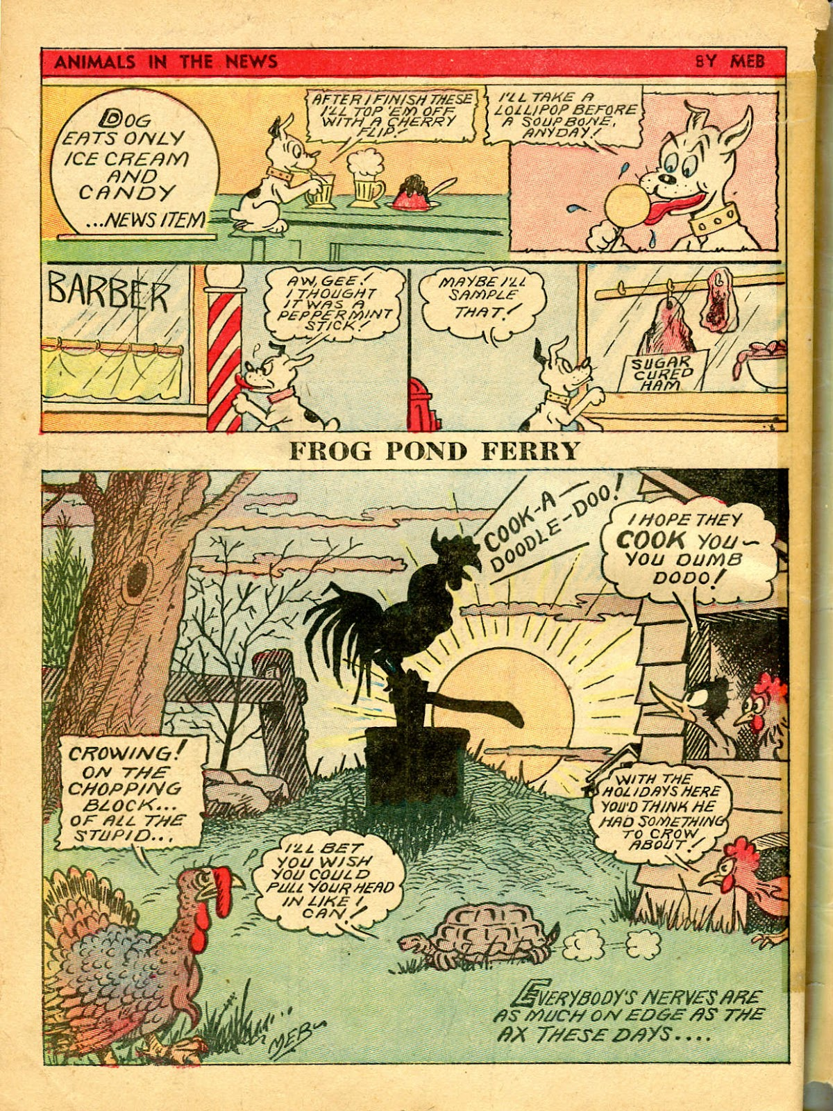 Read online Famous Funnies comic -  Issue #54 - 66