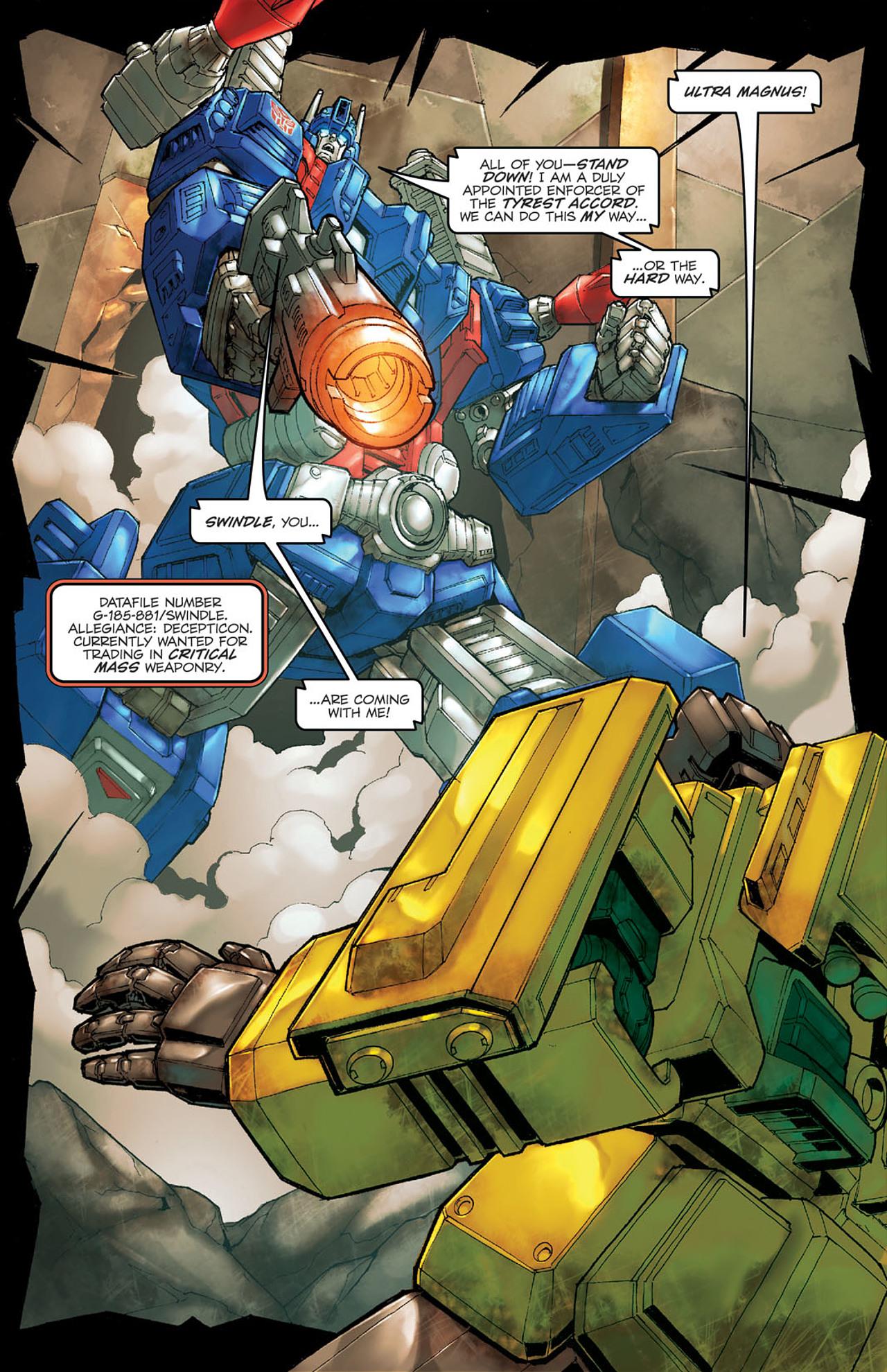 Read online Transformers Spotlight: Ultra Magnus comic -  Issue # Full - 4