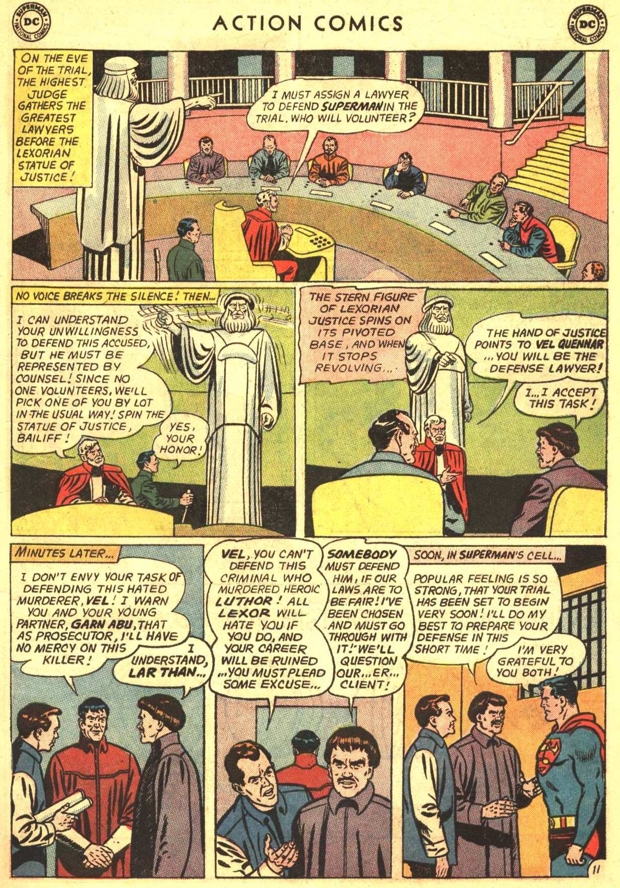 Read online Action Comics (1938) comic -  Issue #318 - 13