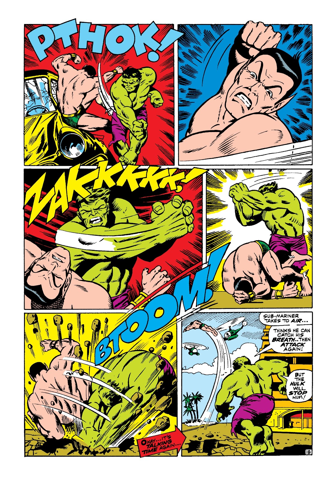 Read online Marvel Masterworks: The Incredible Hulk comic -  Issue # TPB 3 (Part 3) - 46