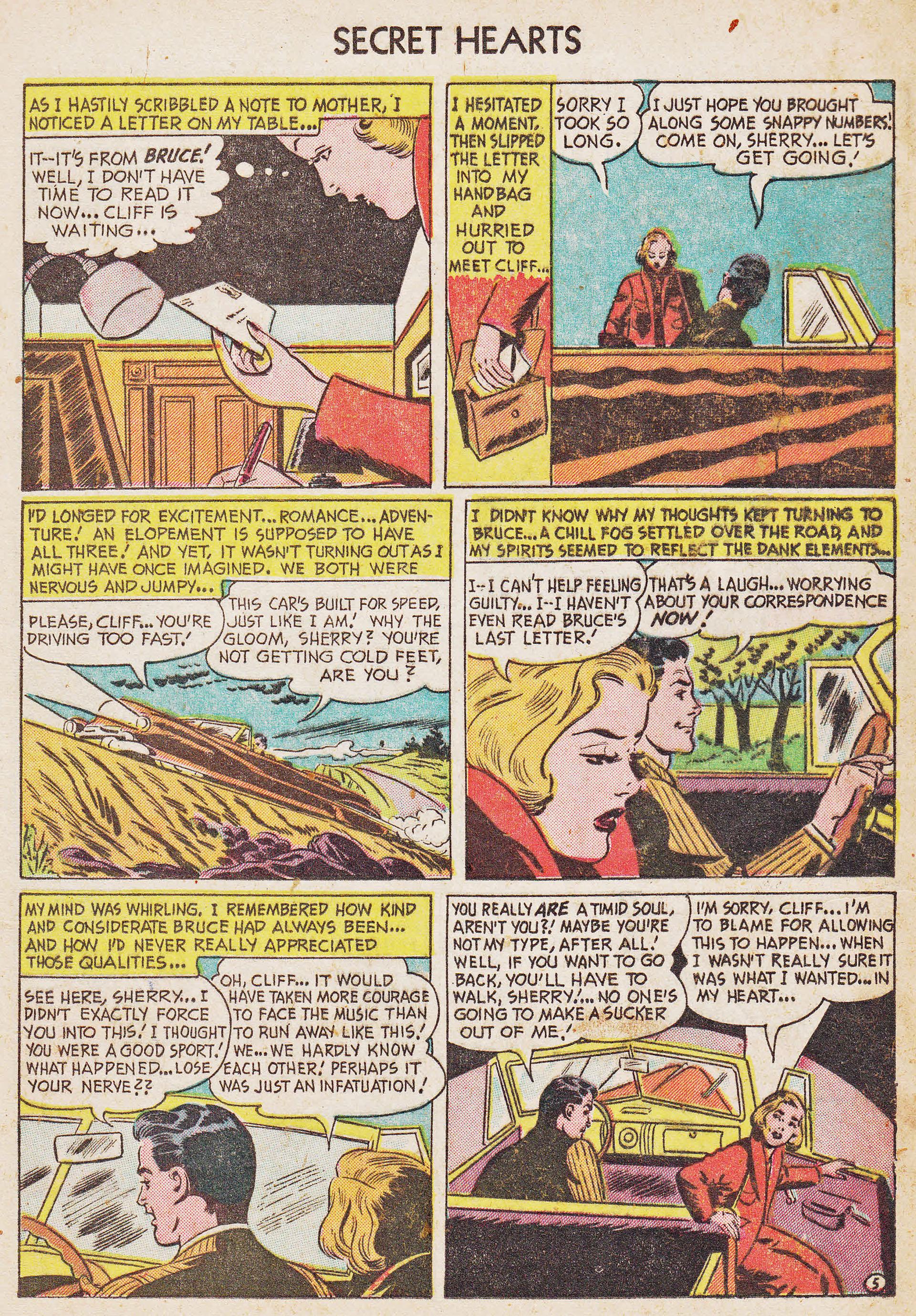 Read online Secret Hearts comic -  Issue #7 - 15