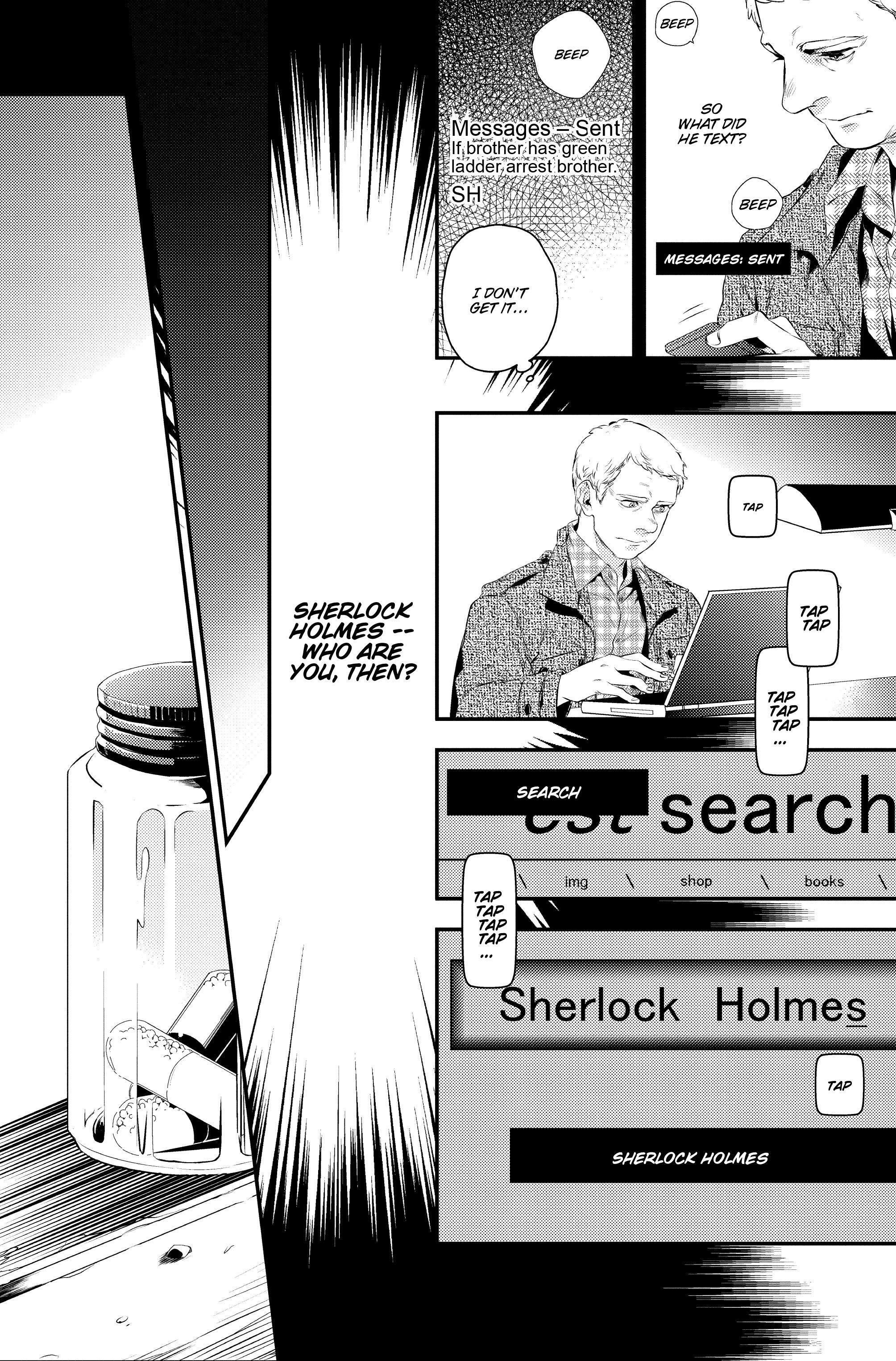 Read online Sherlock: A Study In Pink comic -  Issue #1 - 34