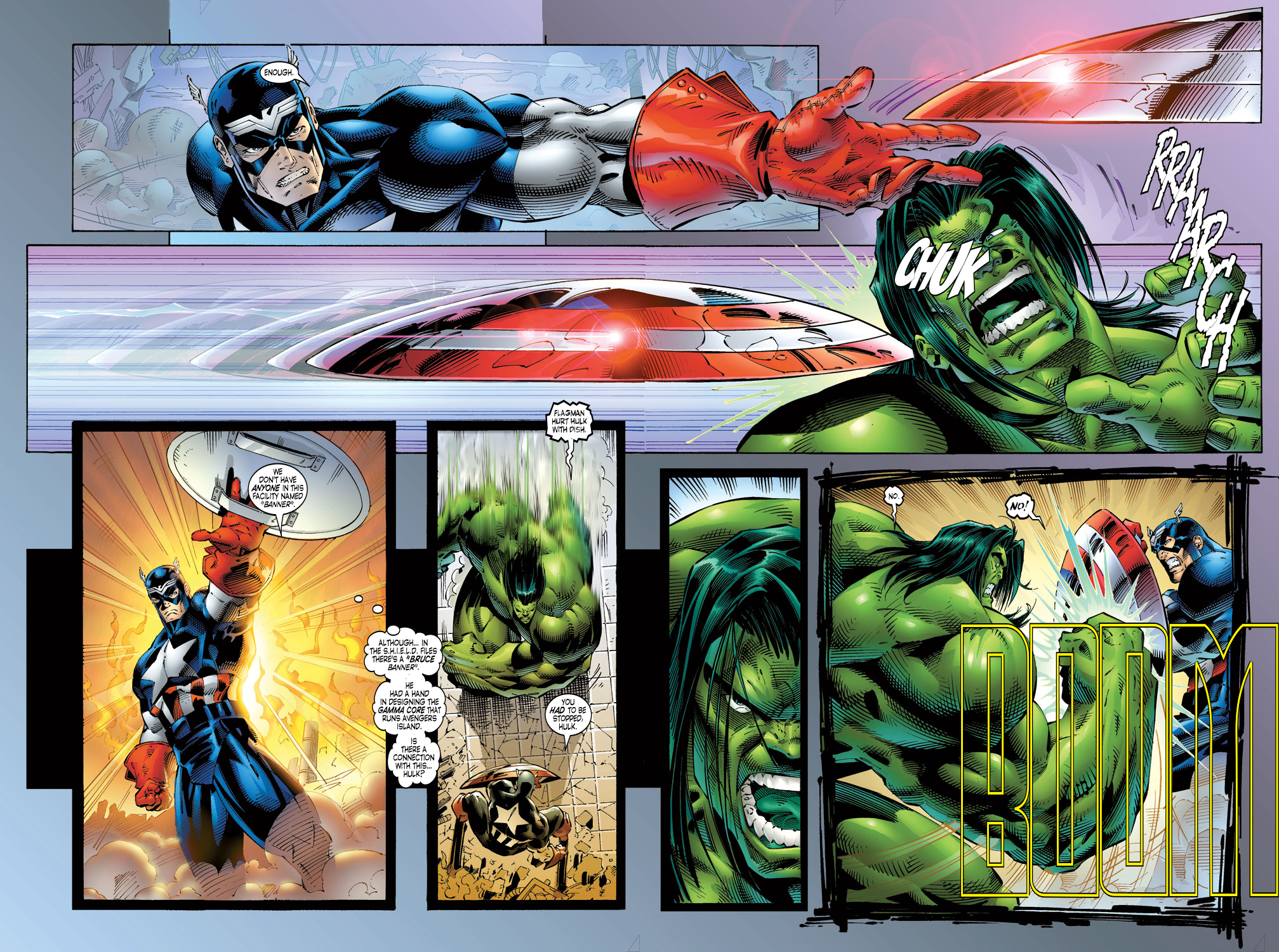 Read online Avengers (1996) comic -  Issue #4 - 20