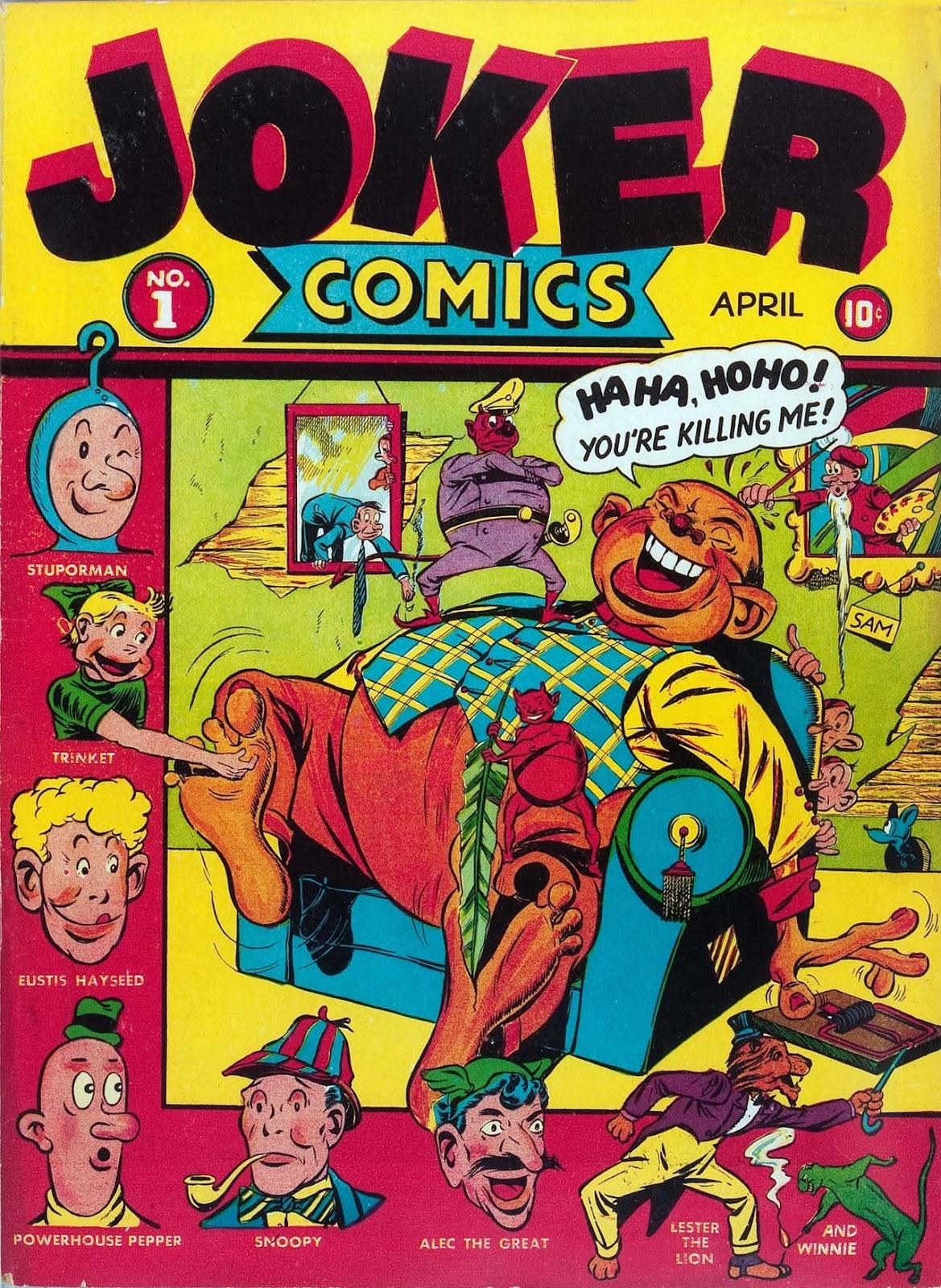 Read online Joker Comics comic -  Issue #1 - 1