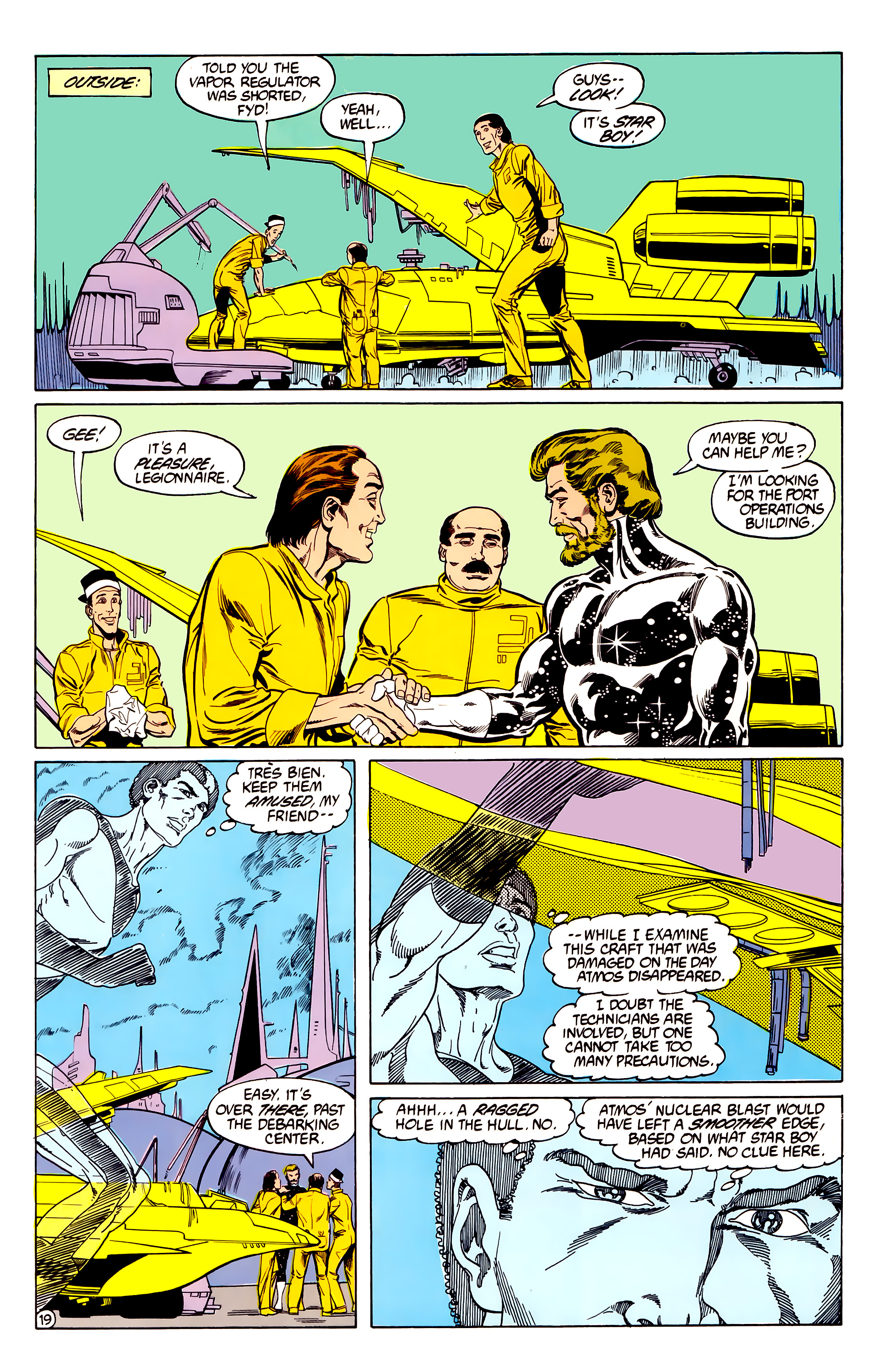 Legion of Super-Heroes (1984) 28 Page 20