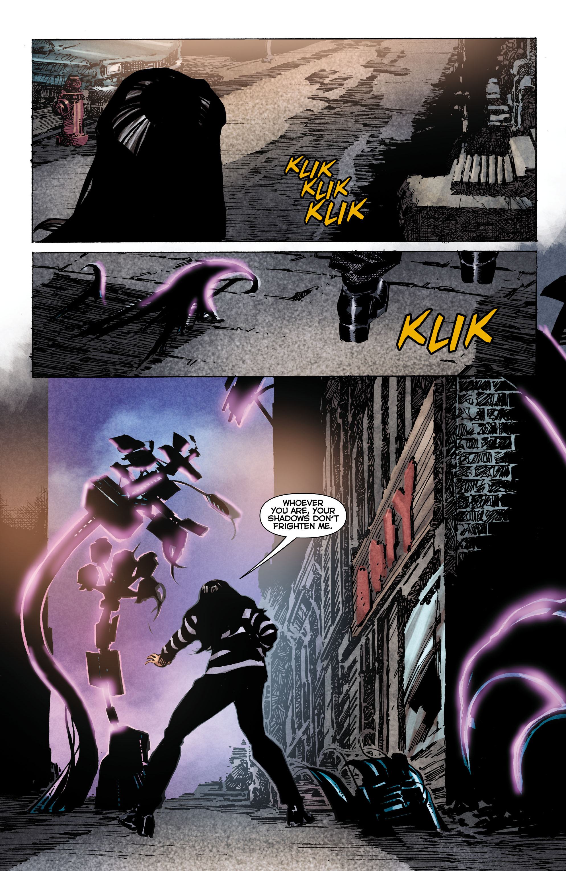 Read online Trinity of Sin: The Phantom Stranger comic -  Issue #1 - 6