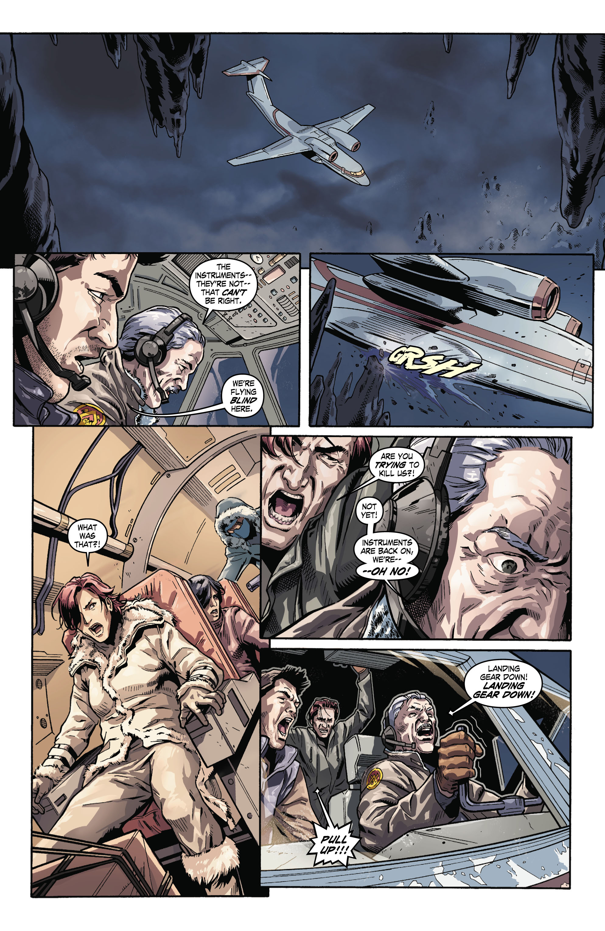 Read online Uncharted comic -  Issue #3 - 17