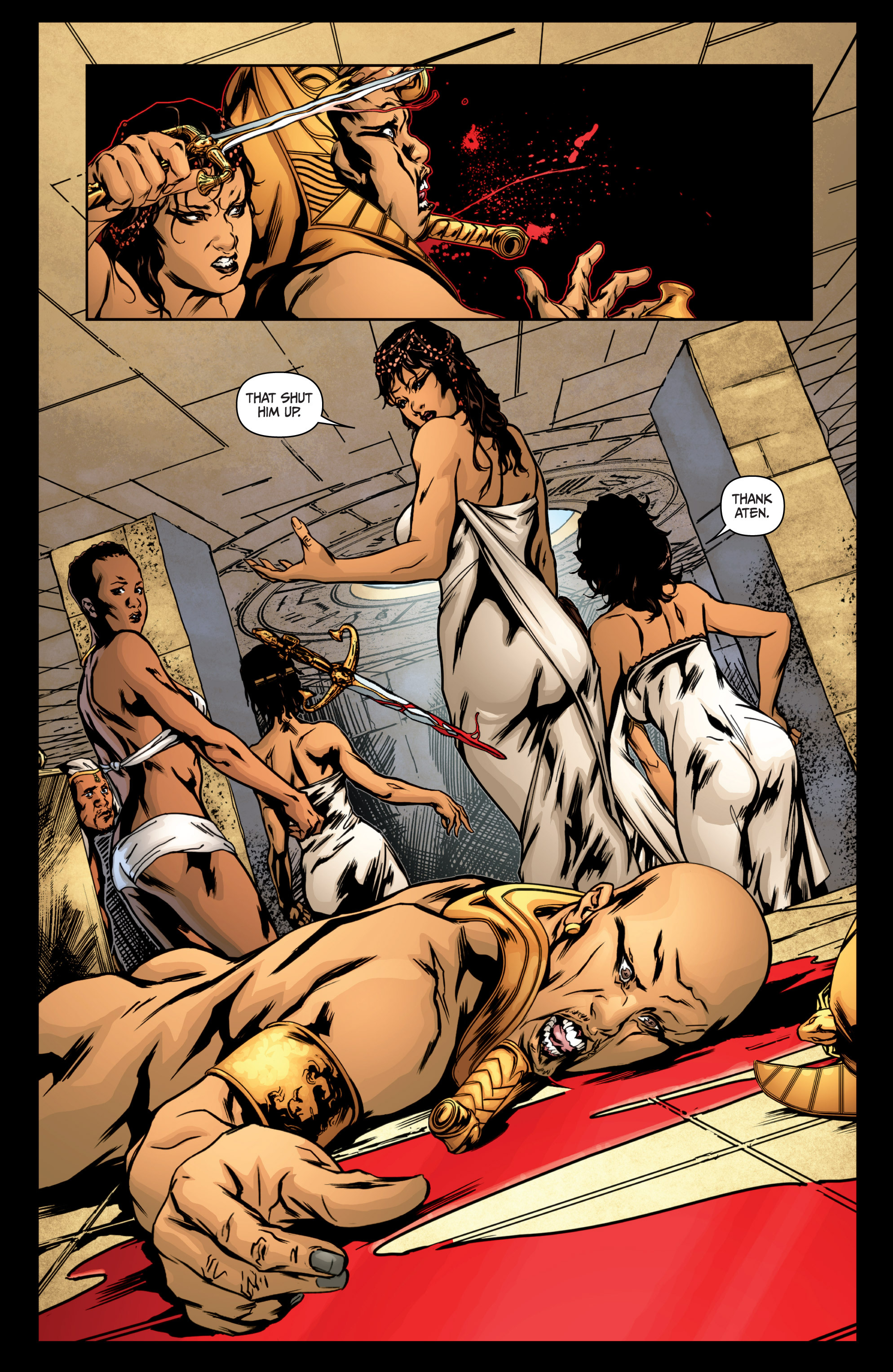 Read online Archer and Armstrong comic -  Issue #Archer and Armstrong _TPB 4 - 12