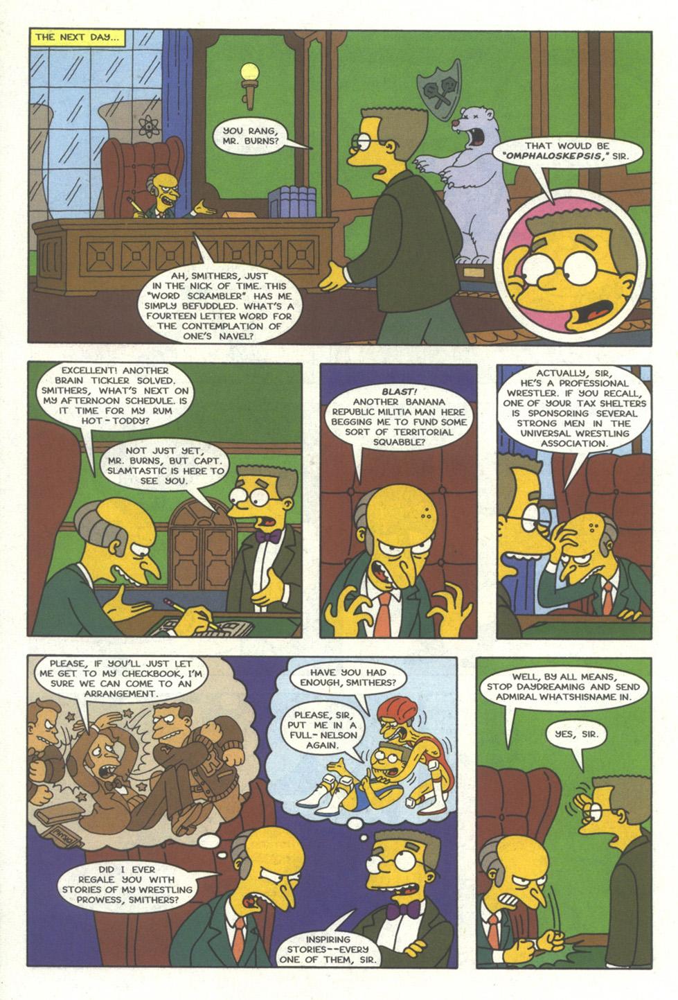Read online Simpsons Comics comic -  Issue #29 - 5