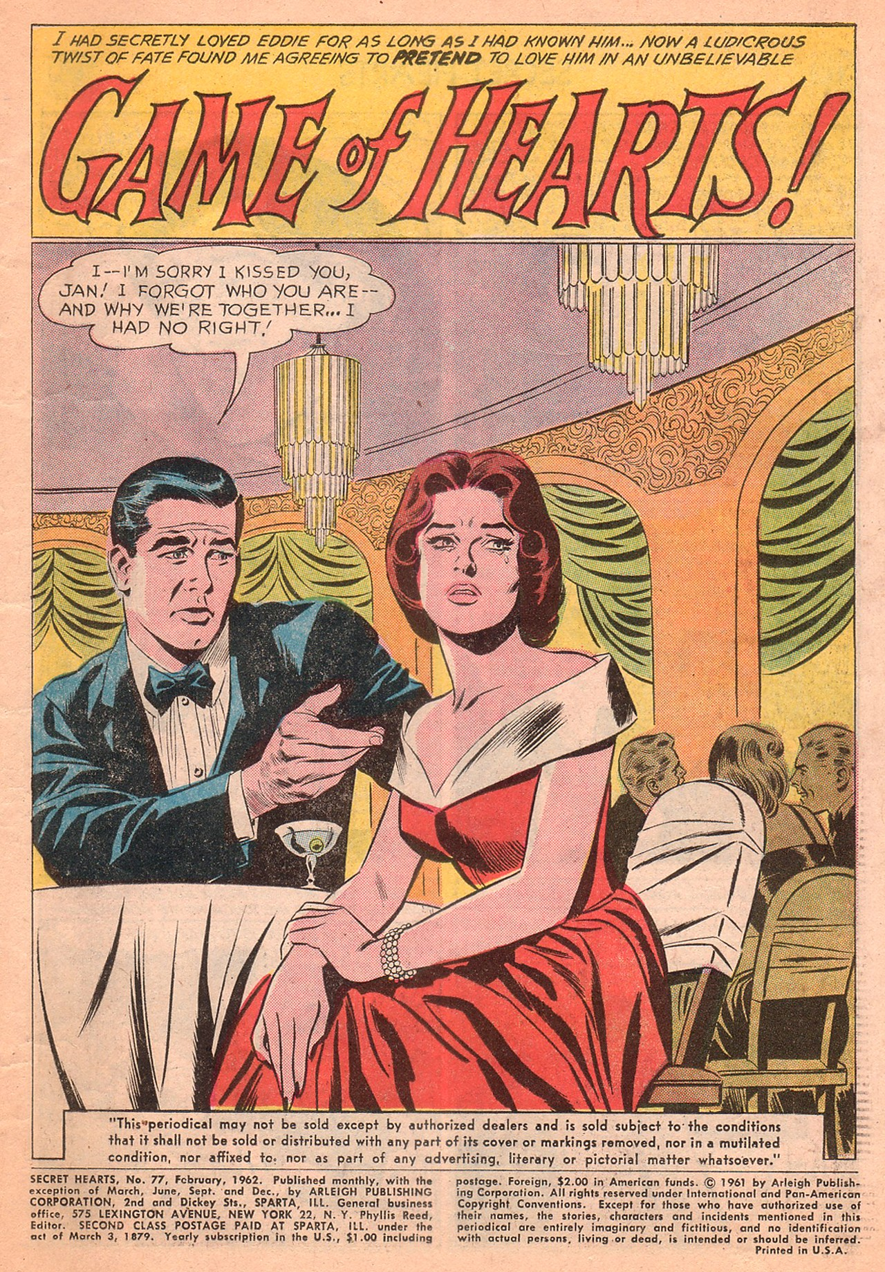 Read online Secret Hearts comic -  Issue #77 - 3