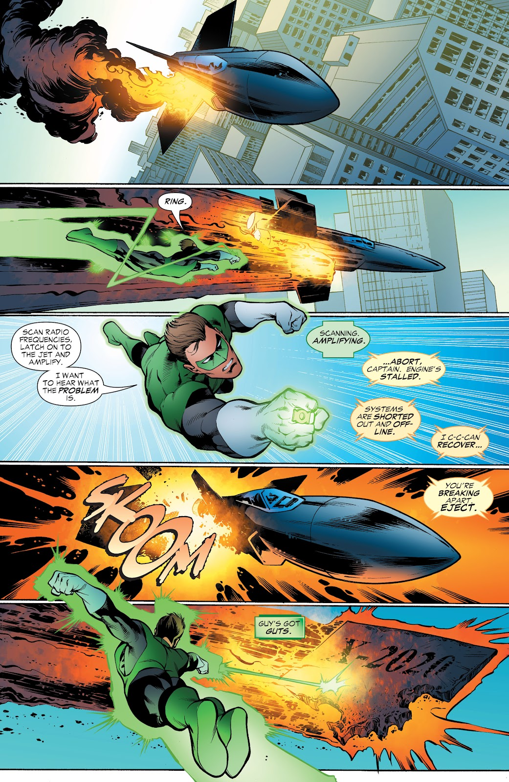 Read online Green Lantern by Geoff Johns comic -  Issue # TPB 1 (Part 4) - 18