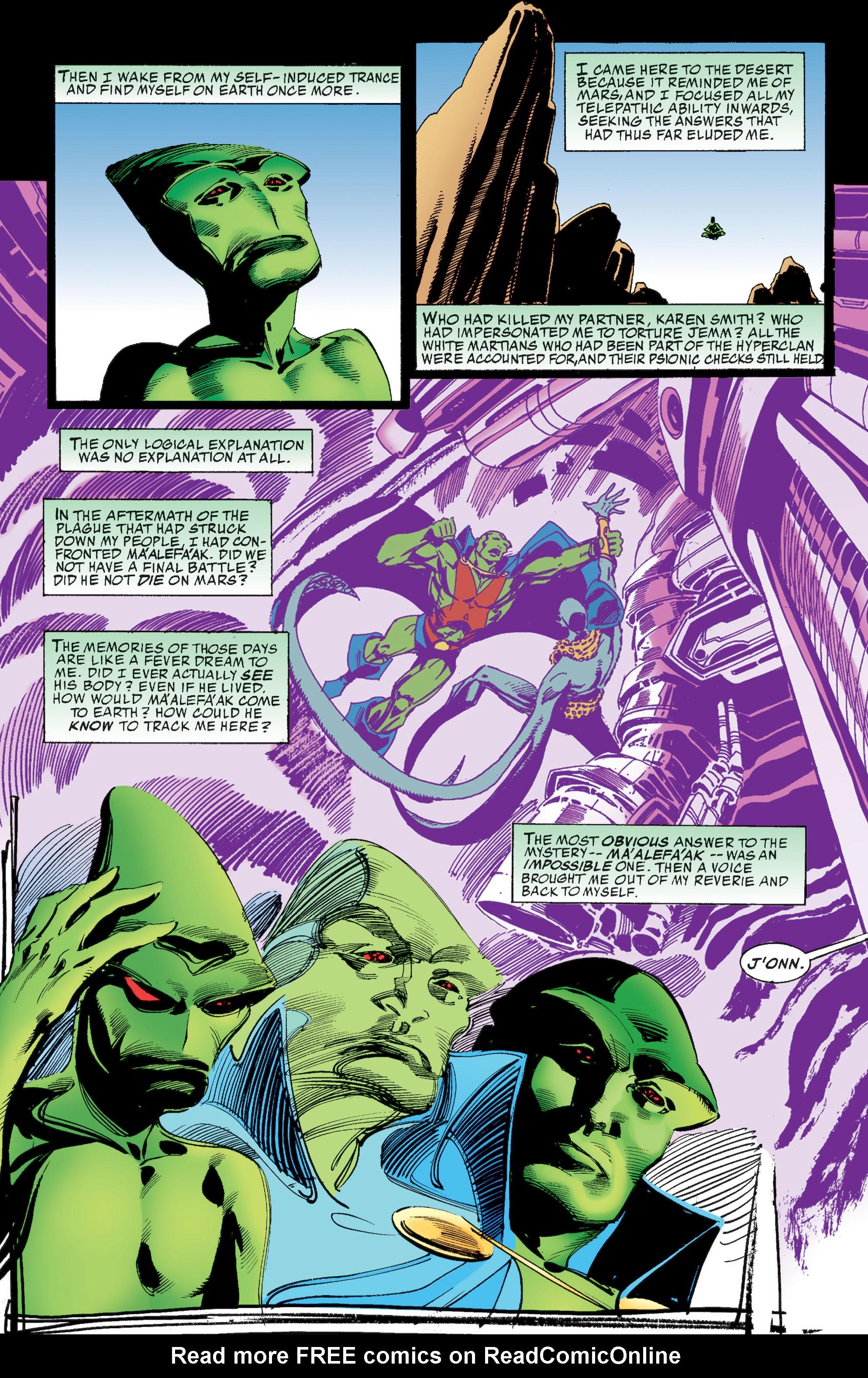 Read online Martian Manhunter: Son of Mars comic -  Issue # TPB - 172