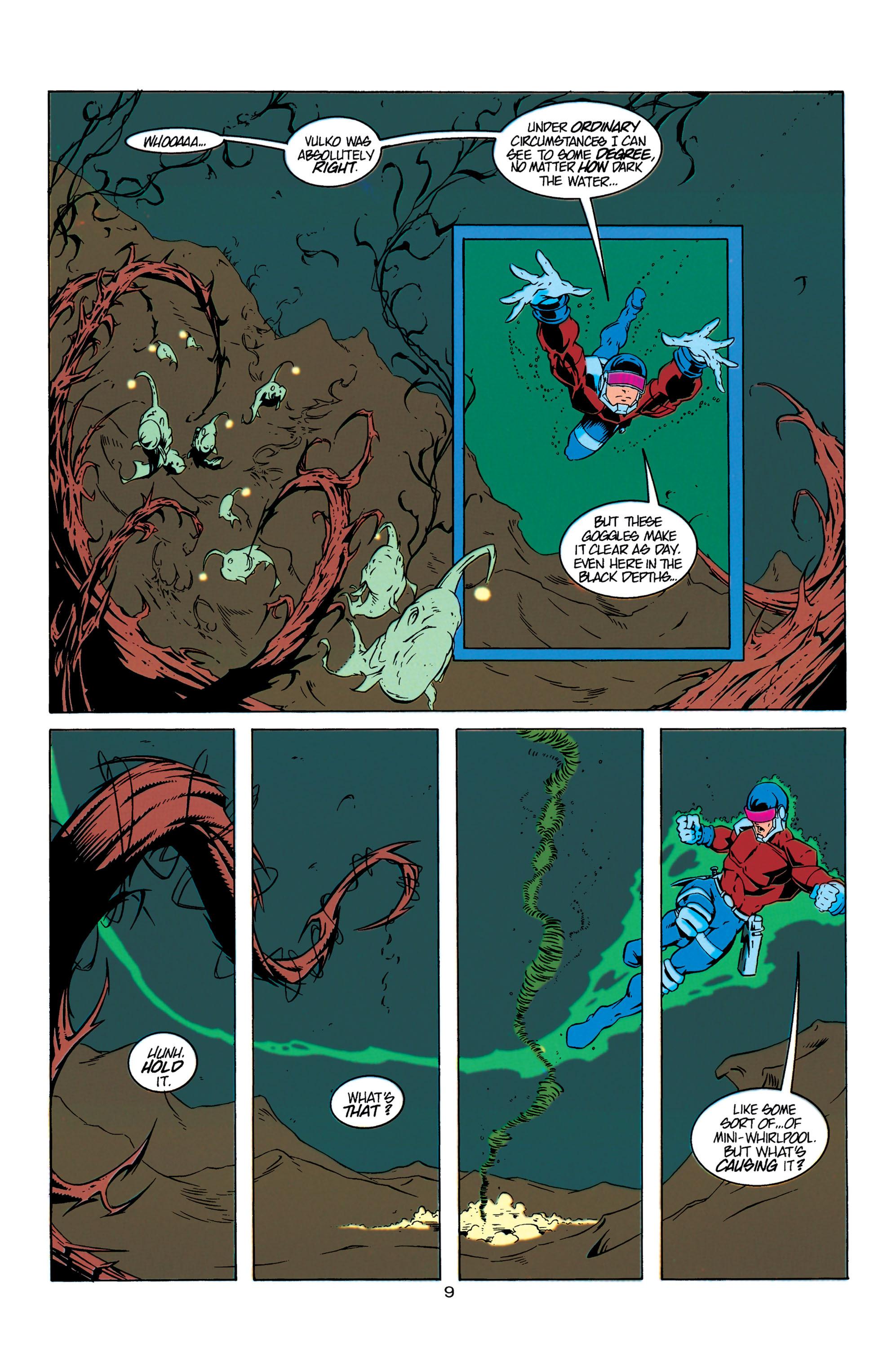 Read online Aquaman (1994) comic -  Issue #6 - 10