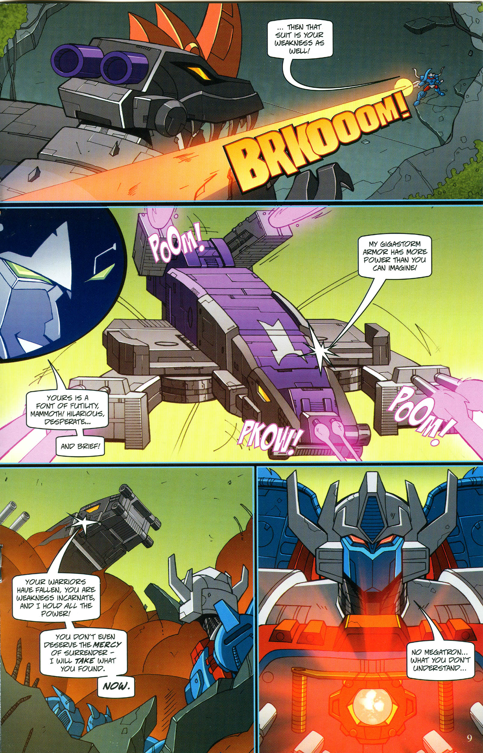 Read online Transformers: Collectors' Club comic -  Issue #54 - 9
