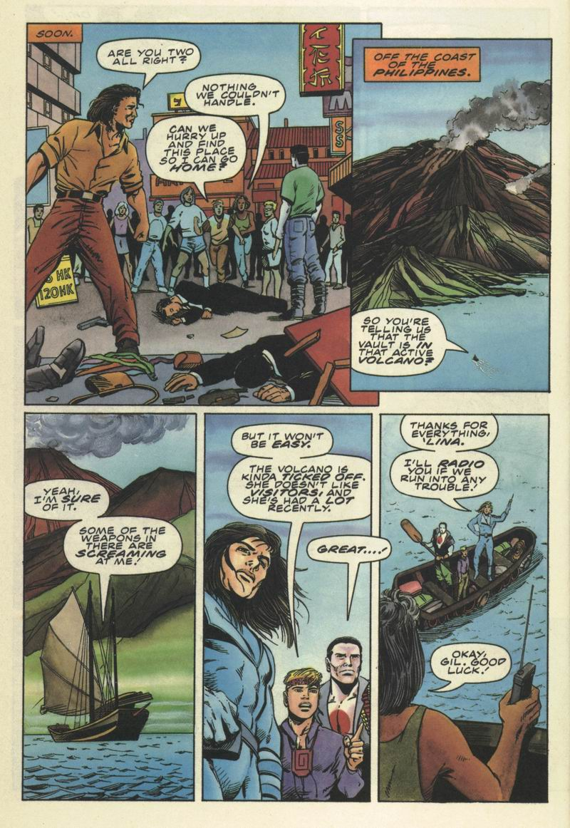 Read online Secret Weapons comic -  Issue #9 - 19