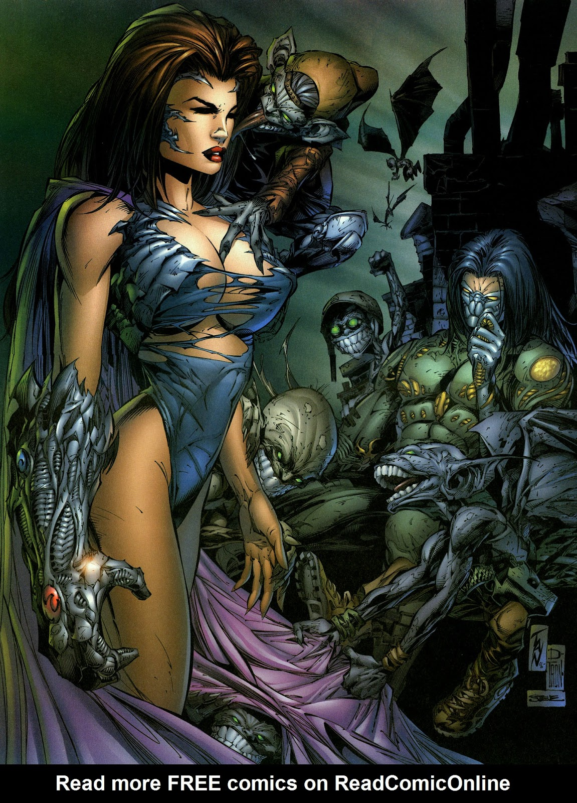 Read online The Darkness (1996) comic -  Issue #0 - 26